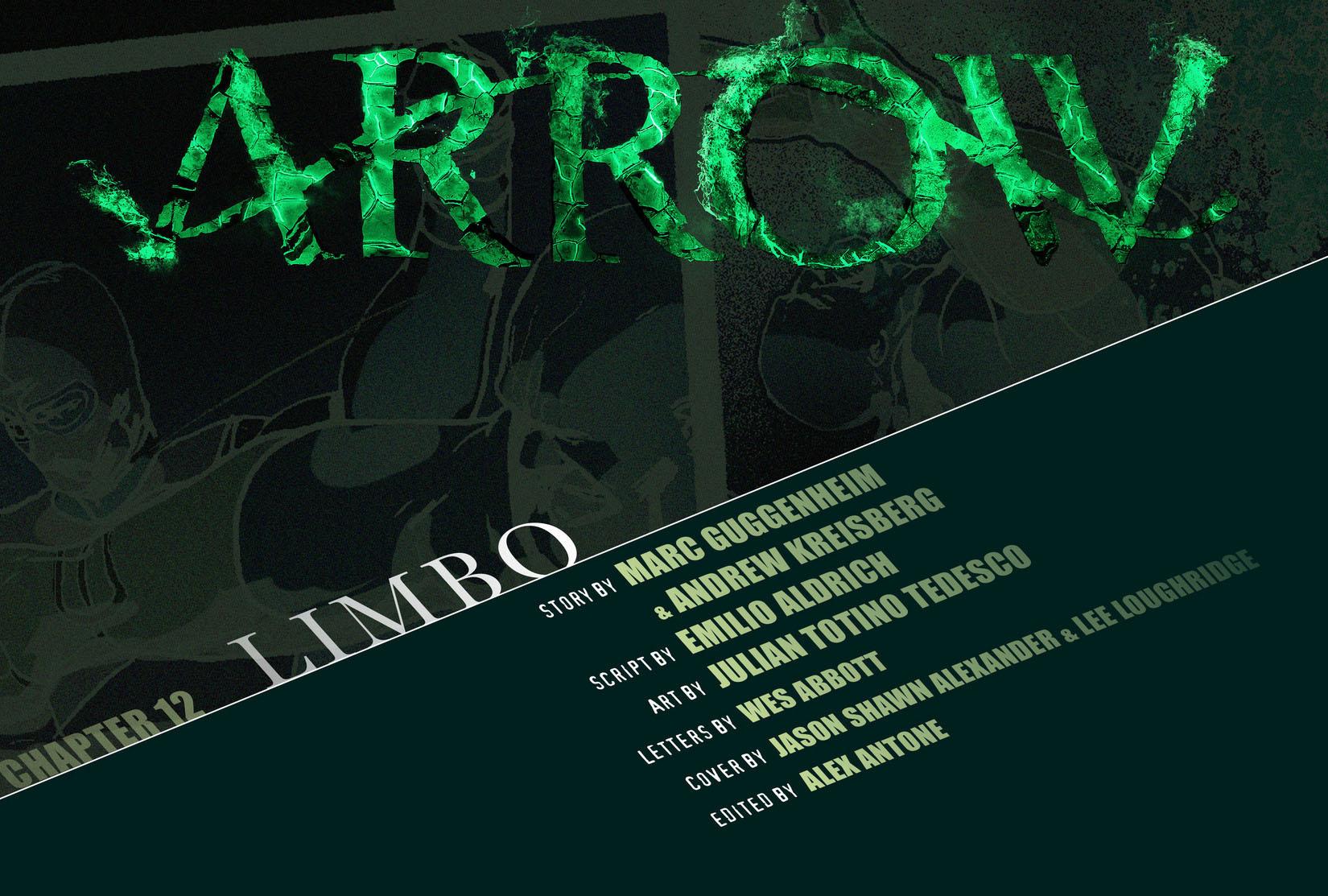 Read online Arrow [II] comic -  Issue #12 - 2