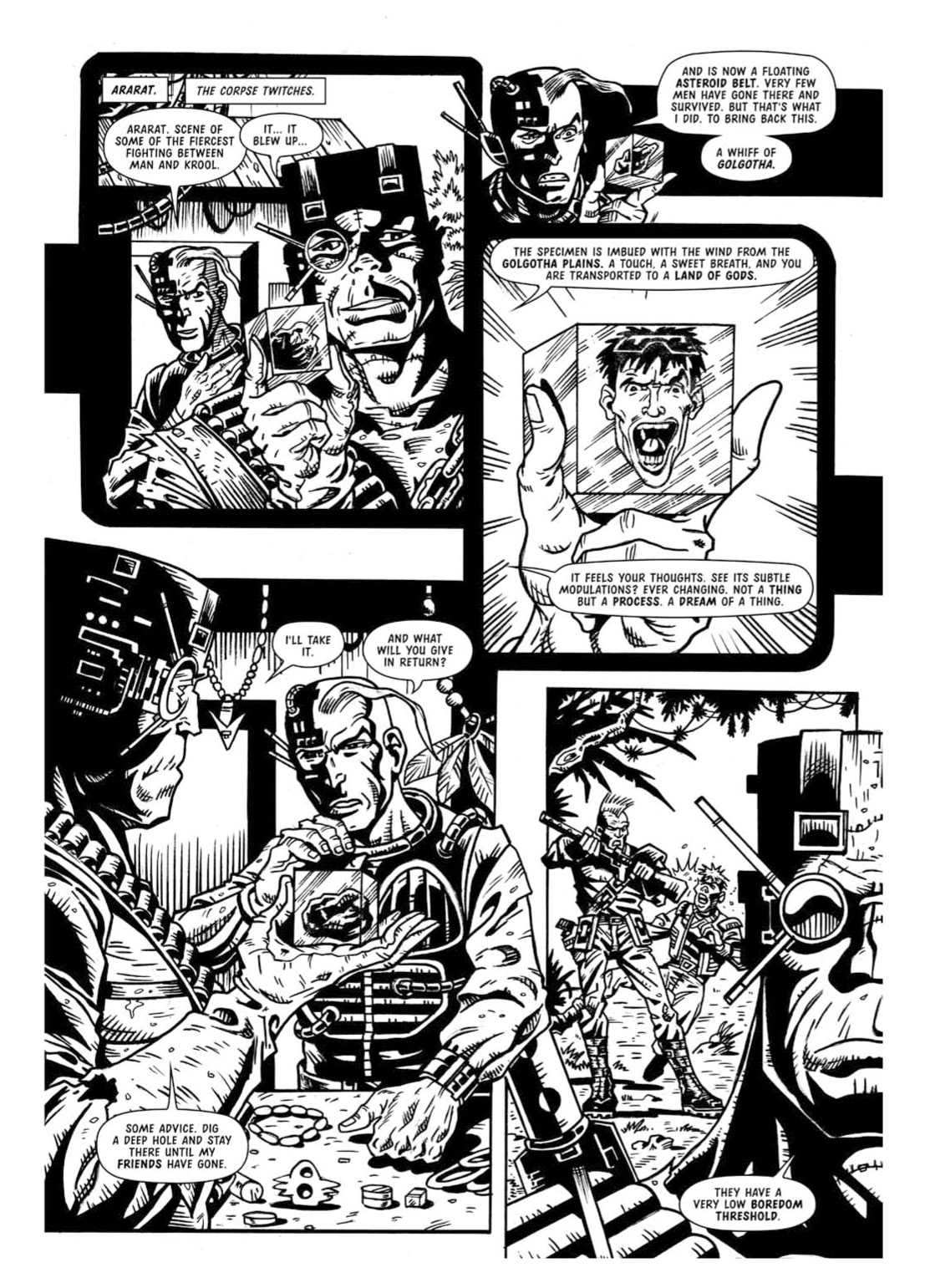 Read online The Complete Bad Company comic -  Issue # TPB - 325
