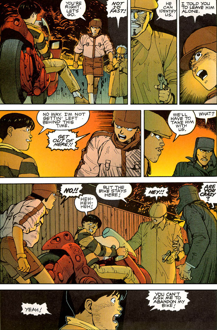 Read online Akira comic -  Issue #3 - 27