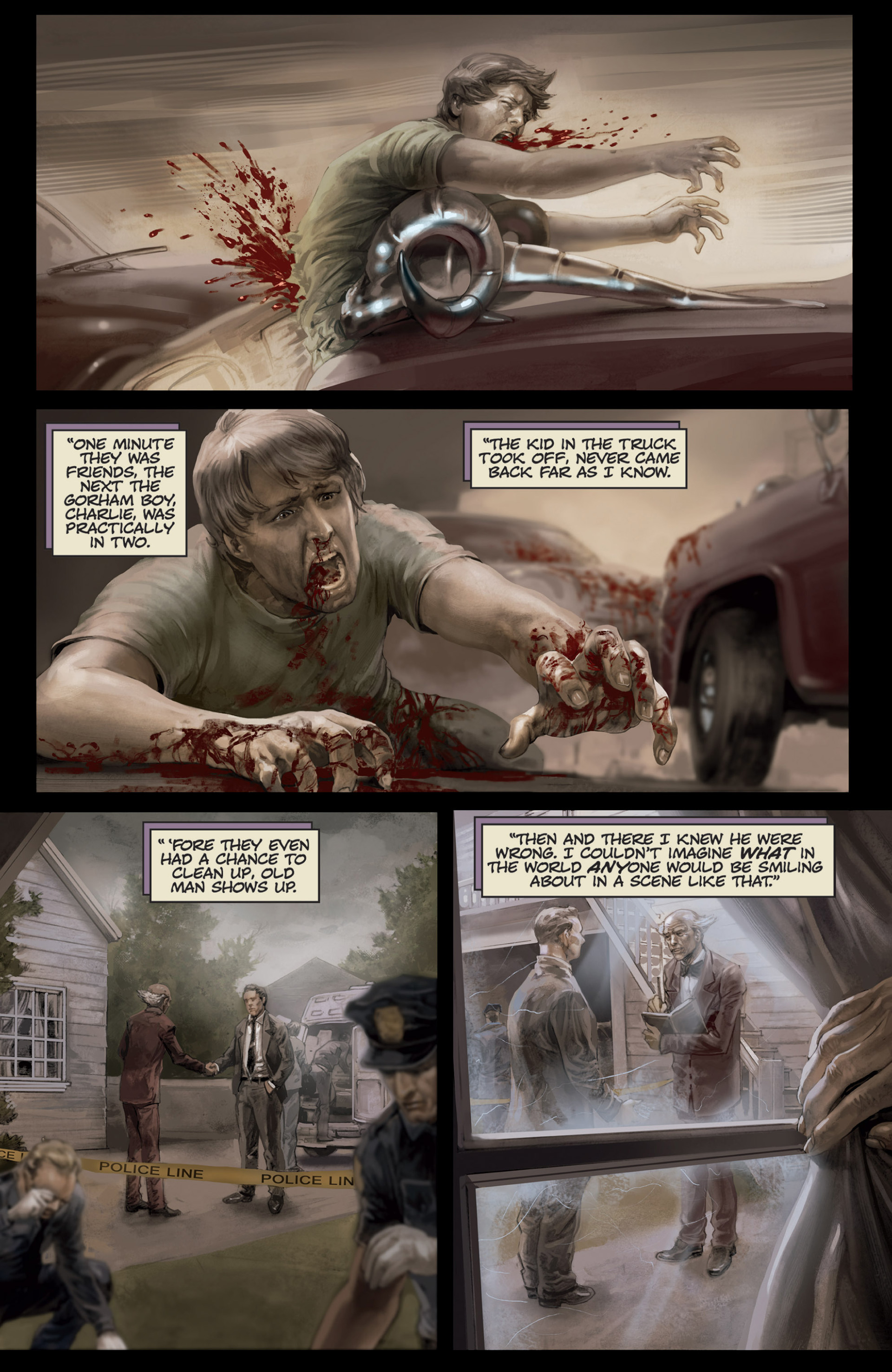 Read online Abattoir comic -  Issue #4 - 8