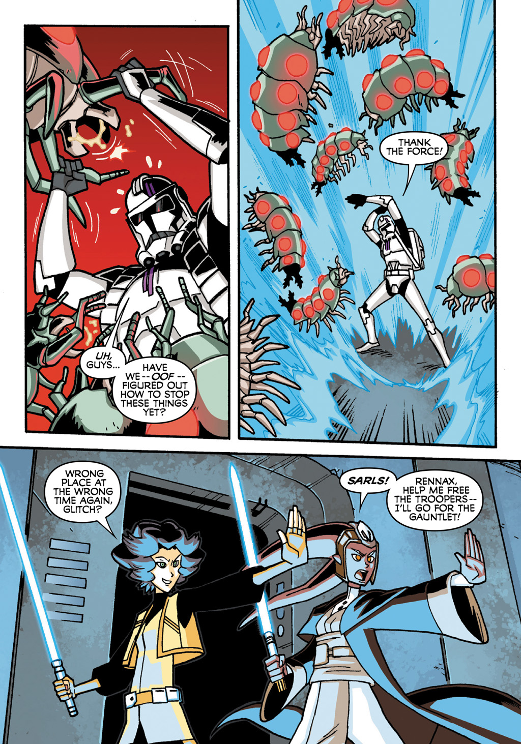 Read online Star Wars: The Clone Wars - Defenders of the Lost Temple comic -  Issue # Full - 34
