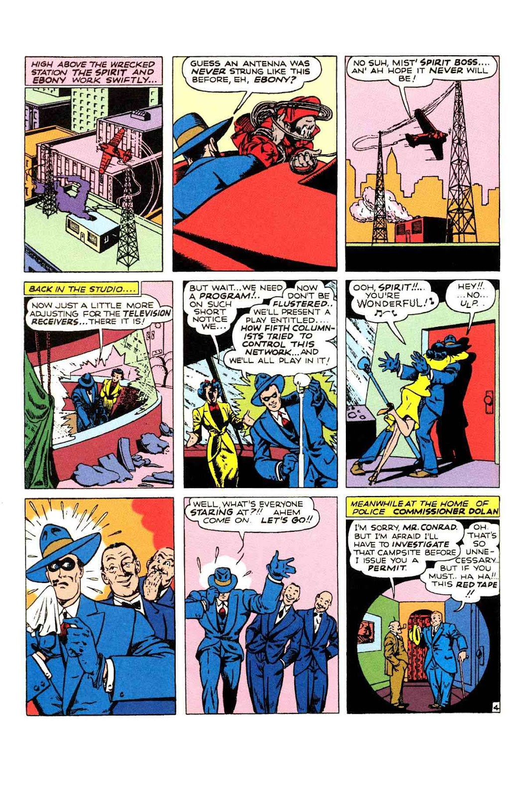 Read online Will Eisner's The Spirit Archives comic -  Issue # TPB 2 (Part 1) - 52
