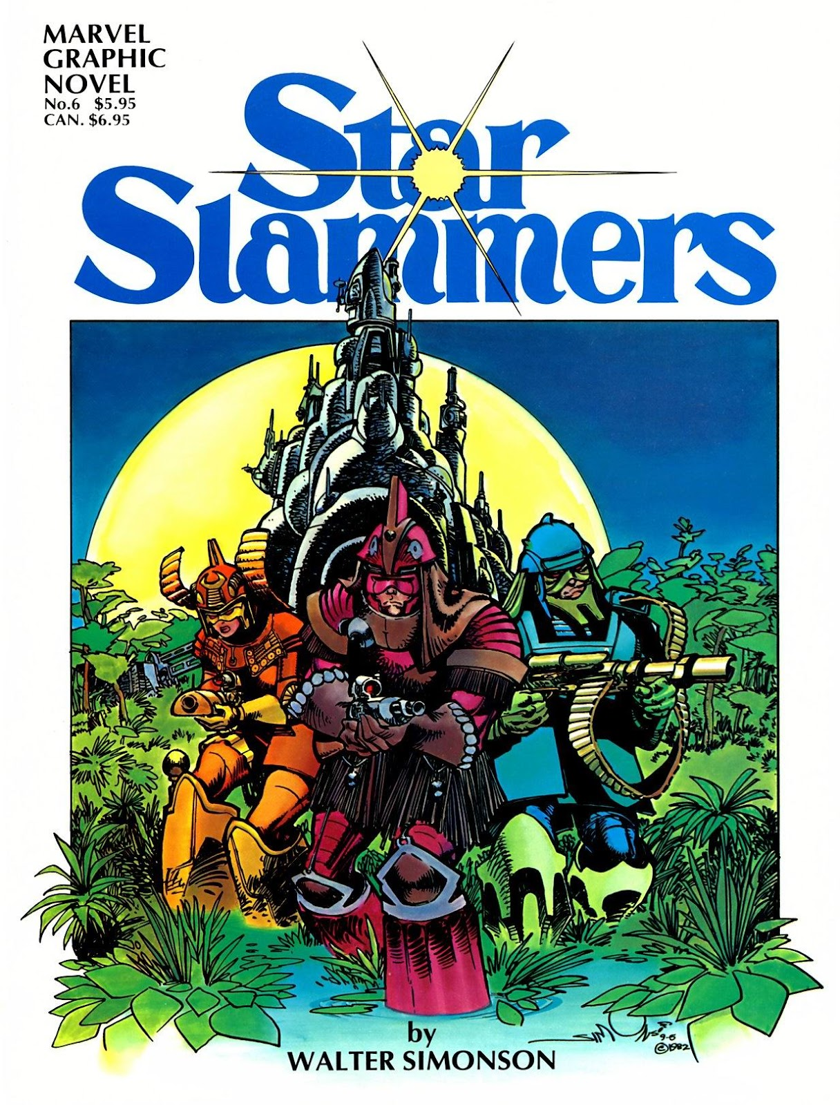 Marvel Graphic Novel 6_-_The_Star_Slammers Page 1