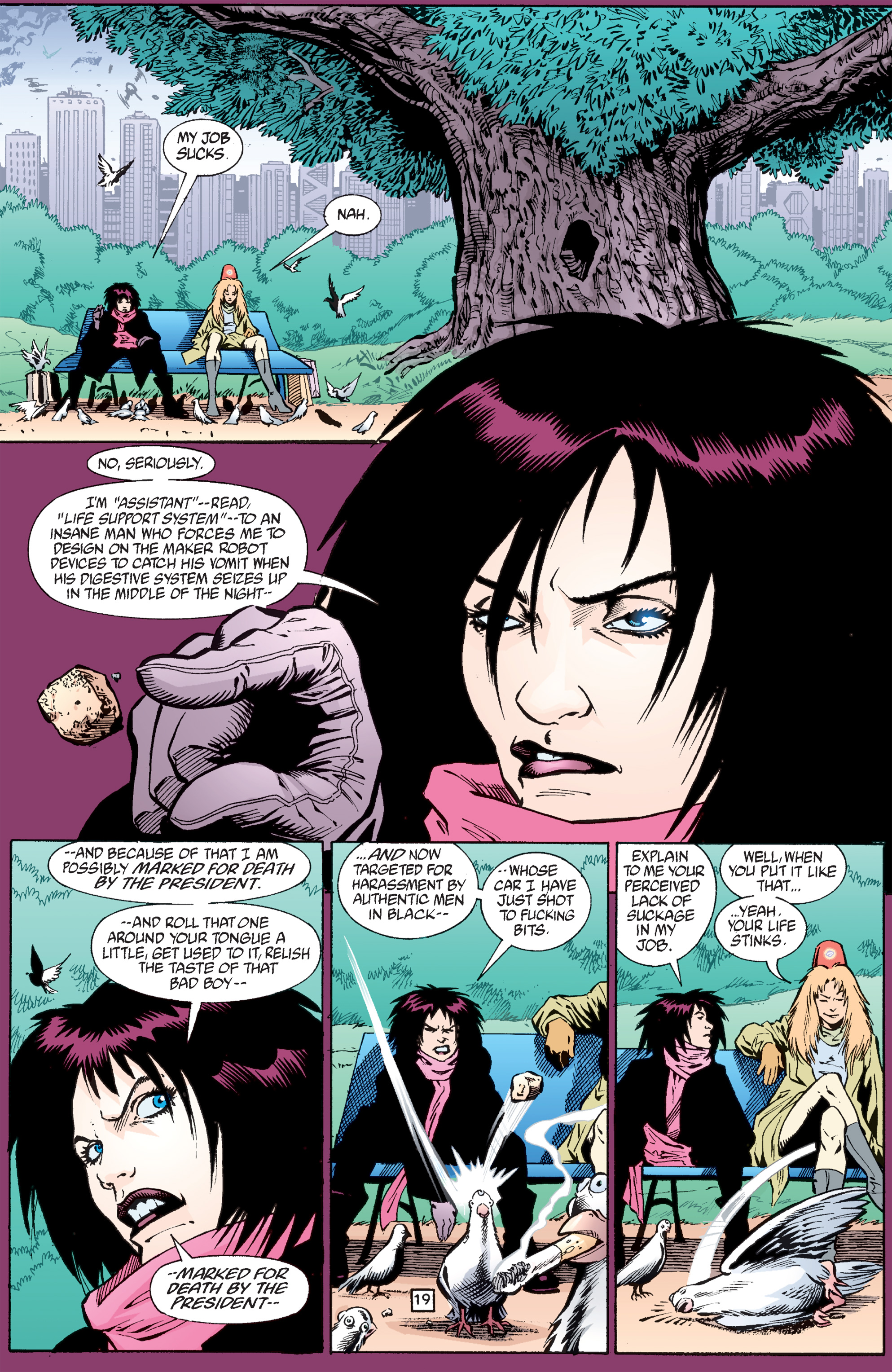 Read online Transmetropolitan comic -  Issue #33 - 20