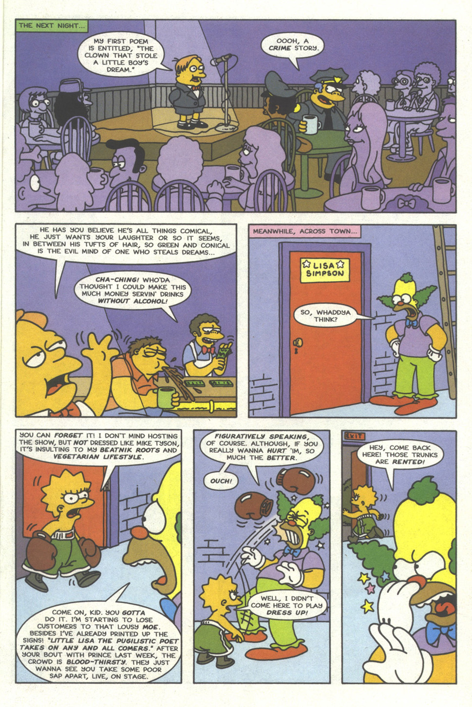 Read online Simpsons Comics comic -  Issue #32 - 16