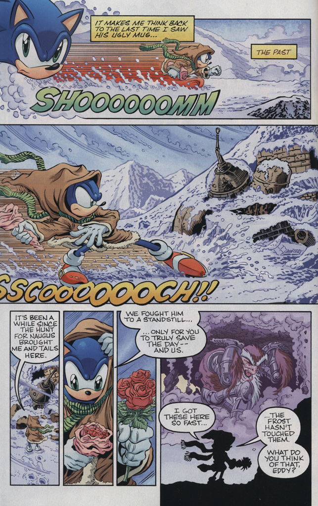 Read online Sonic the Hedgehog Free Comic Book Day Edition comic -  Issue # Special 5 - 6