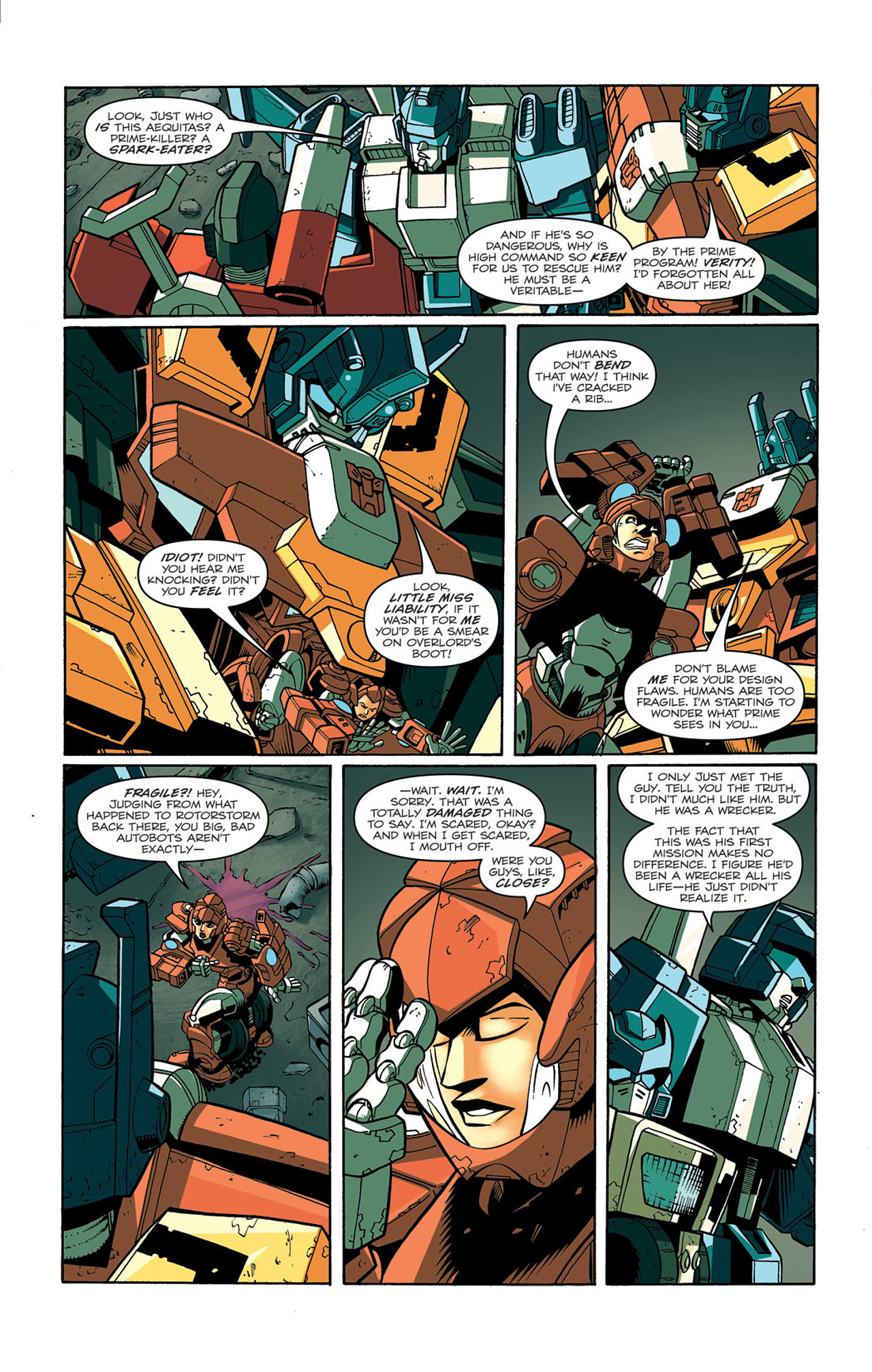 Read online Transformers: Last Stand of The Wreckers comic -  Issue #3 - 23