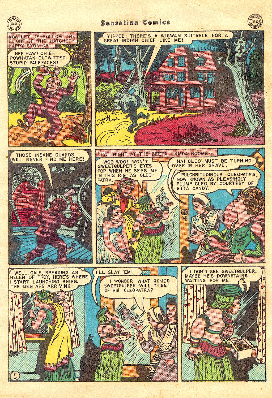 Read online Sensation (Mystery) Comics comic -  Issue #57 - 7