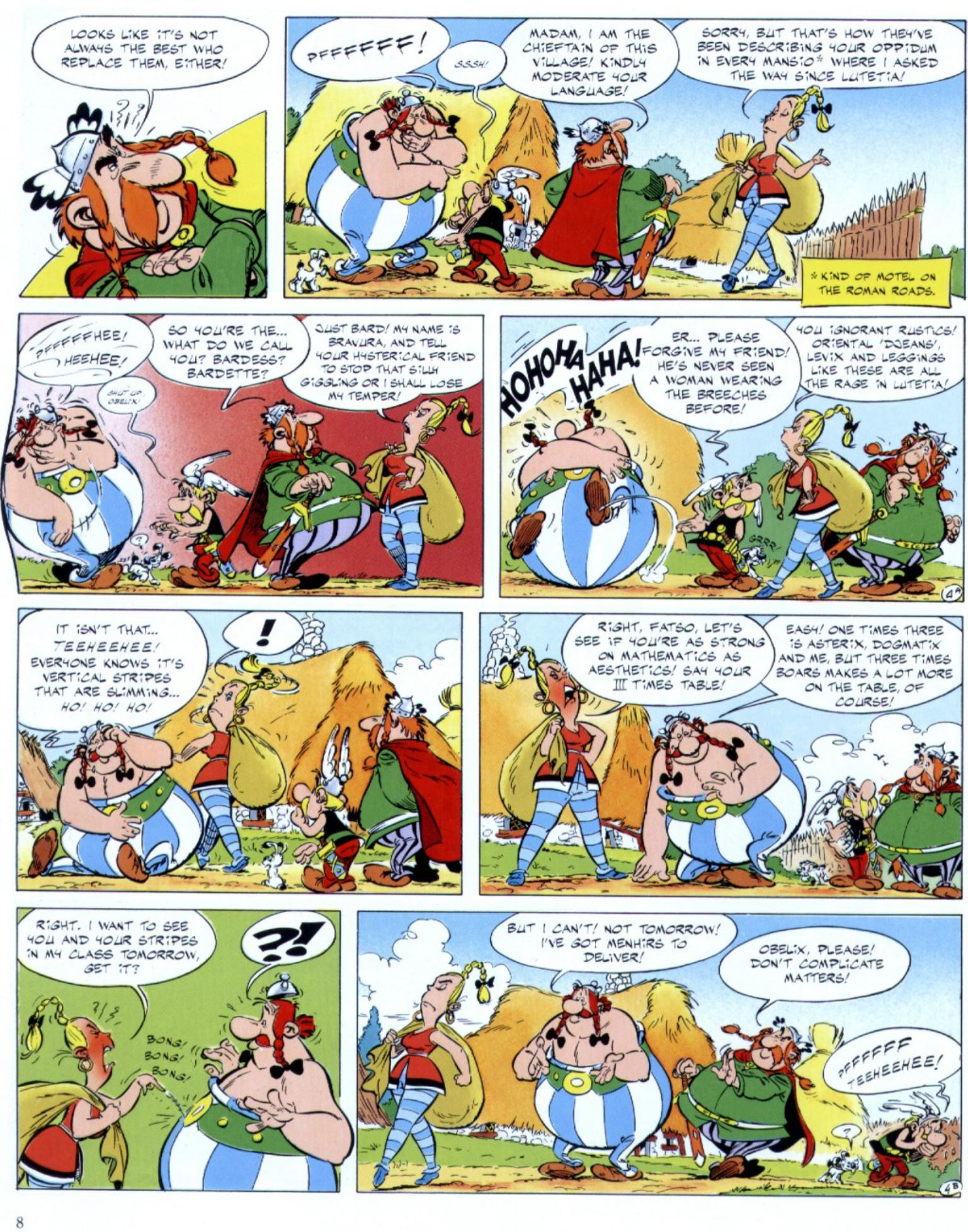 Read online Asterix comic -  Issue #29 - 6