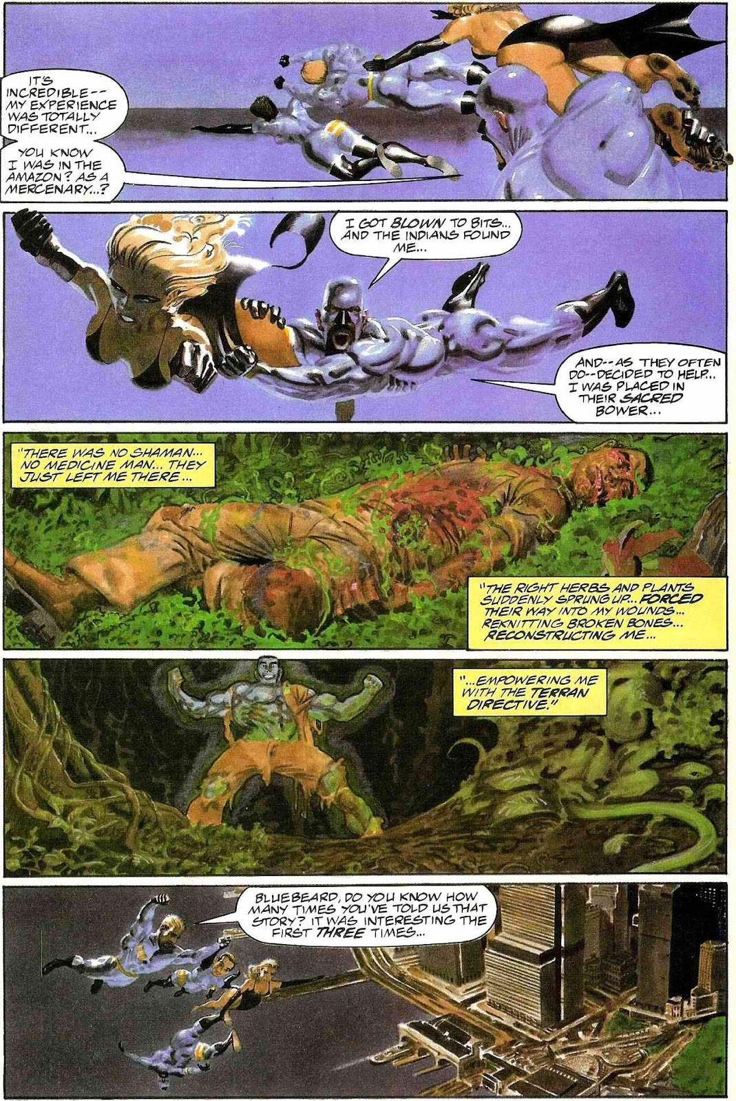 Read online Terrarists comic -  Issue #1 - 19