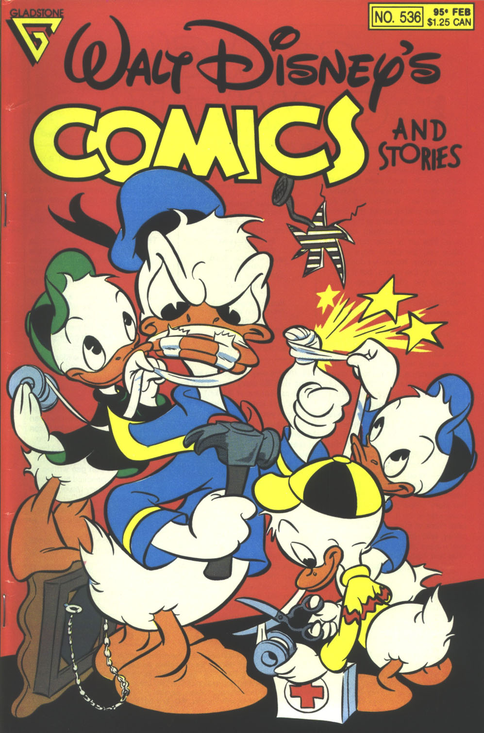 Walt Disney's Comics and Stories issue 536 - Page 1
