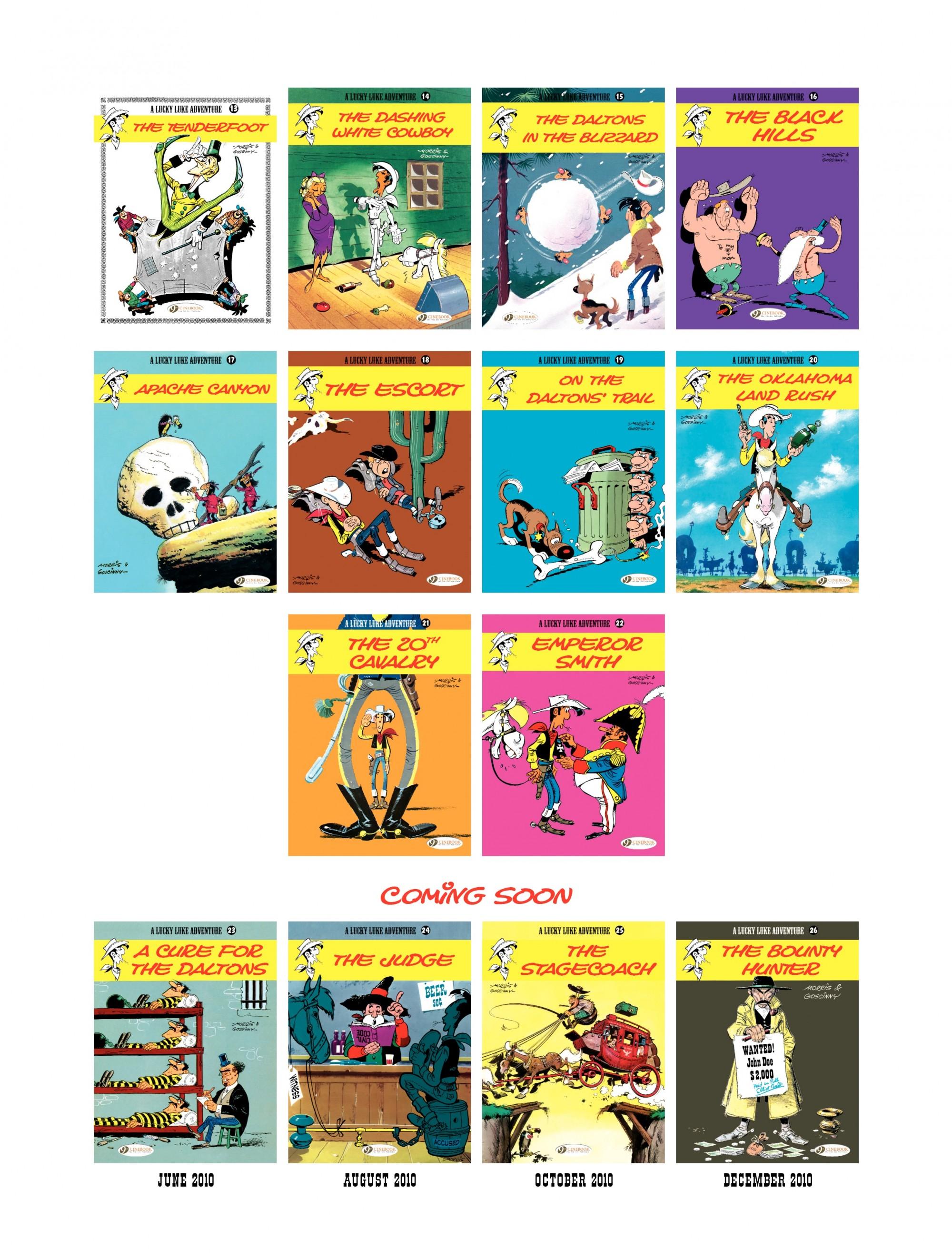 Read online A Lucky Luke Adventure comic -  Issue #22 - 48