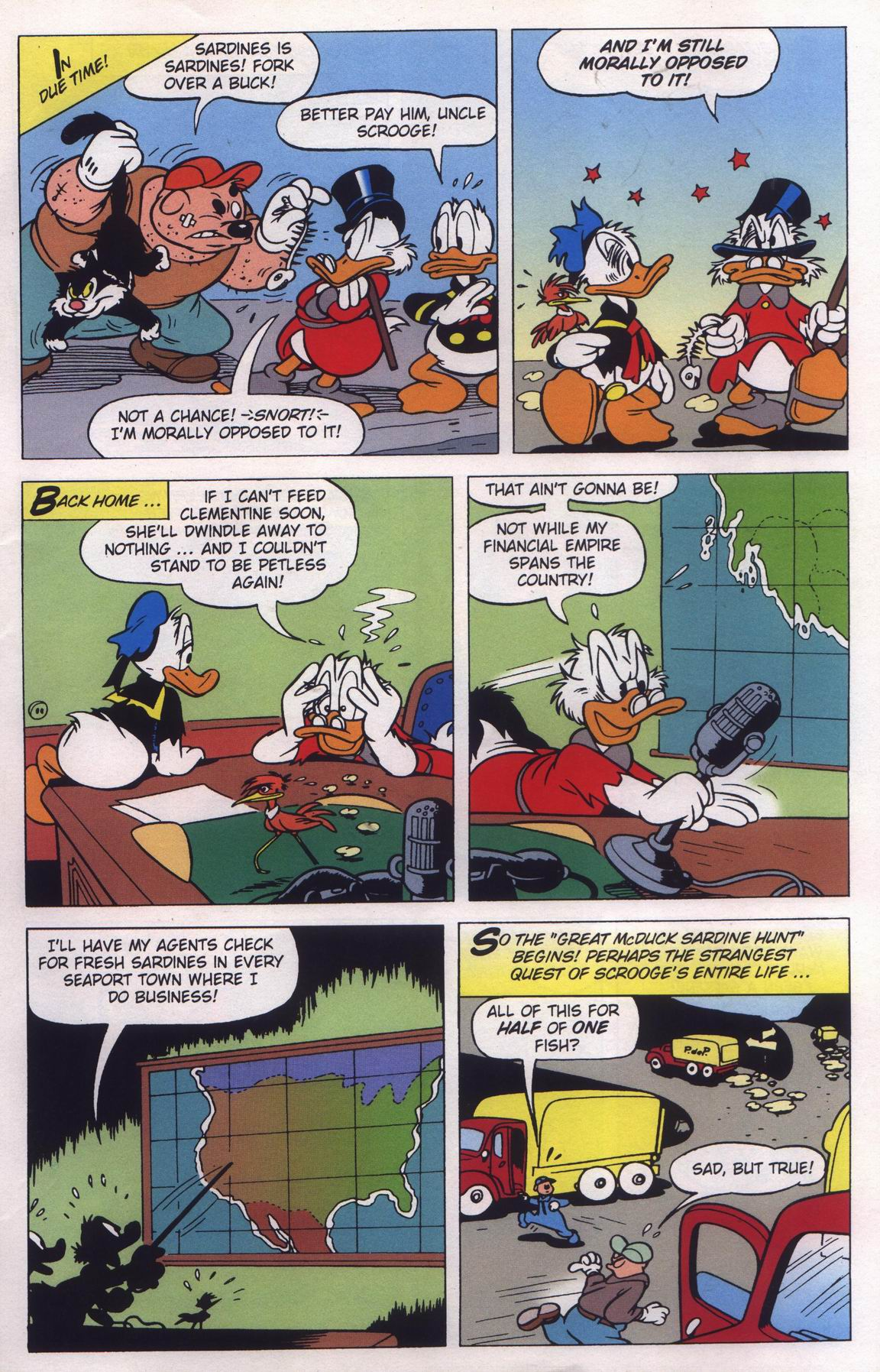 Read online Uncle Scrooge (1953) comic -  Issue #315 - 13
