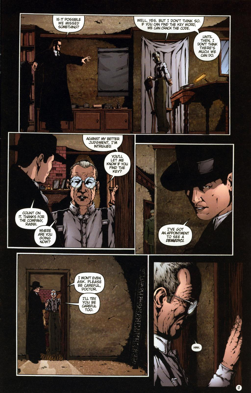 Read online Rex Mundi comic -  Issue #7 - 21