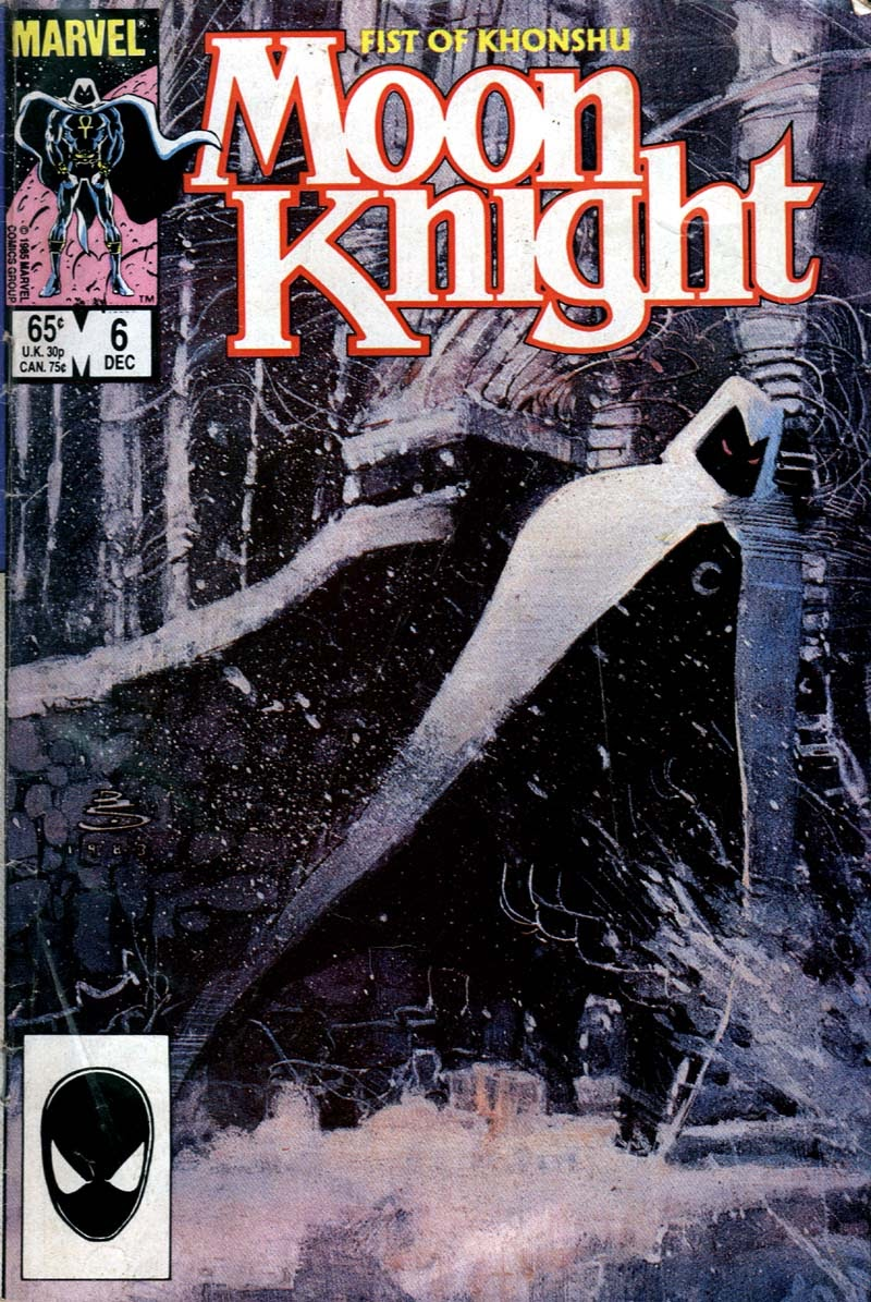 Moon Knight (1985) 6 Page 1