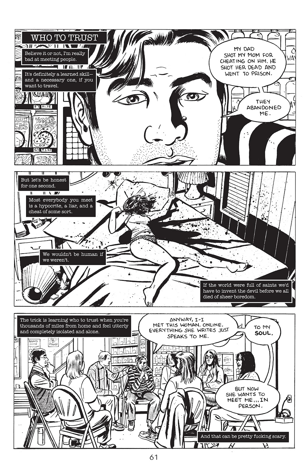 Read online Lodger comic -  Issue #4 - 3