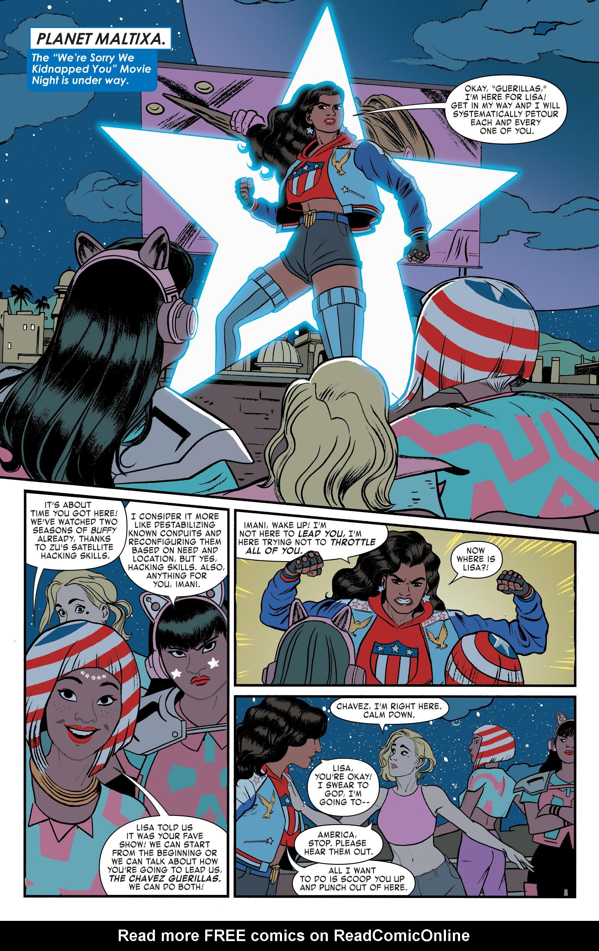 Read online America (2017) comic -  Issue #3 - 15