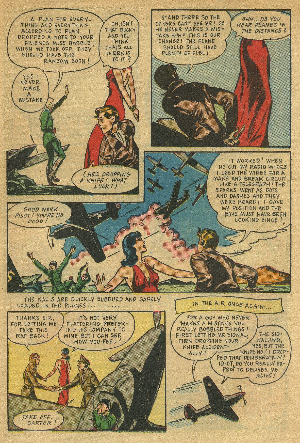 Read online Shadow Comics comic -  Issue #49 - 31