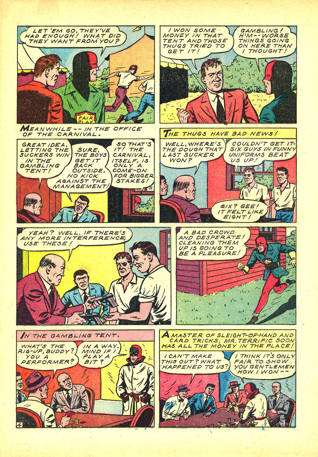 Read online Sensation (Mystery) Comics comic -  Issue #8 - 28
