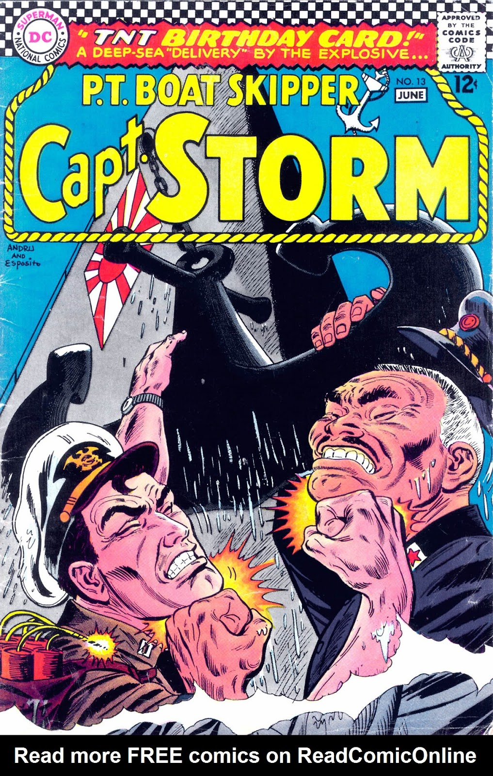 Capt. Storm issue 13 - Page 1
