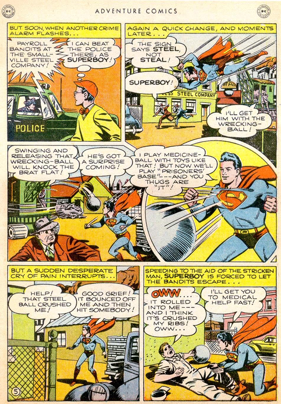 Read online Adventure Comics (1938) comic -  Issue #144 - 6