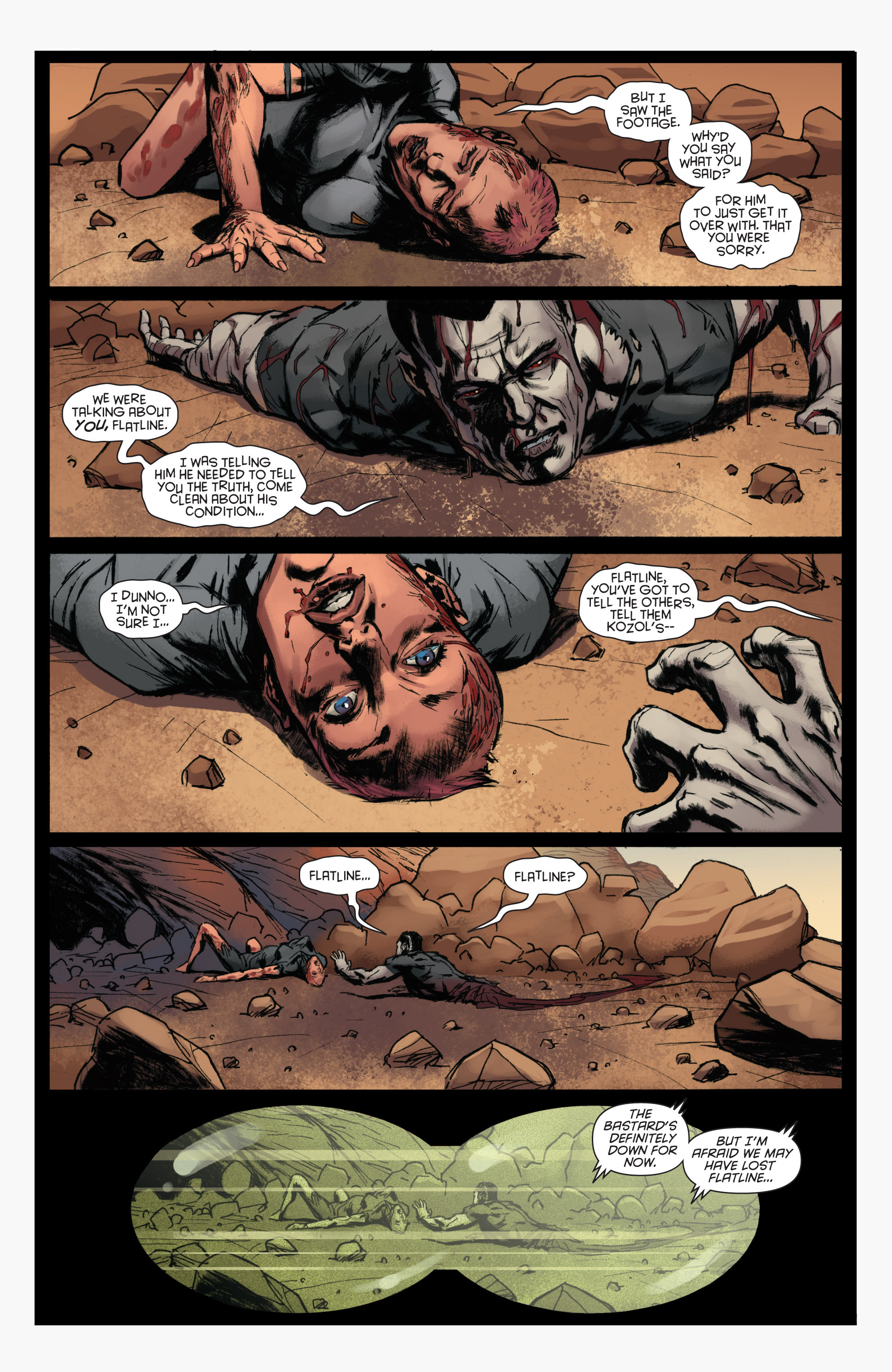 Read online Bloodshot and H.A.R.D.Corps comic -  Issue #22 - 23