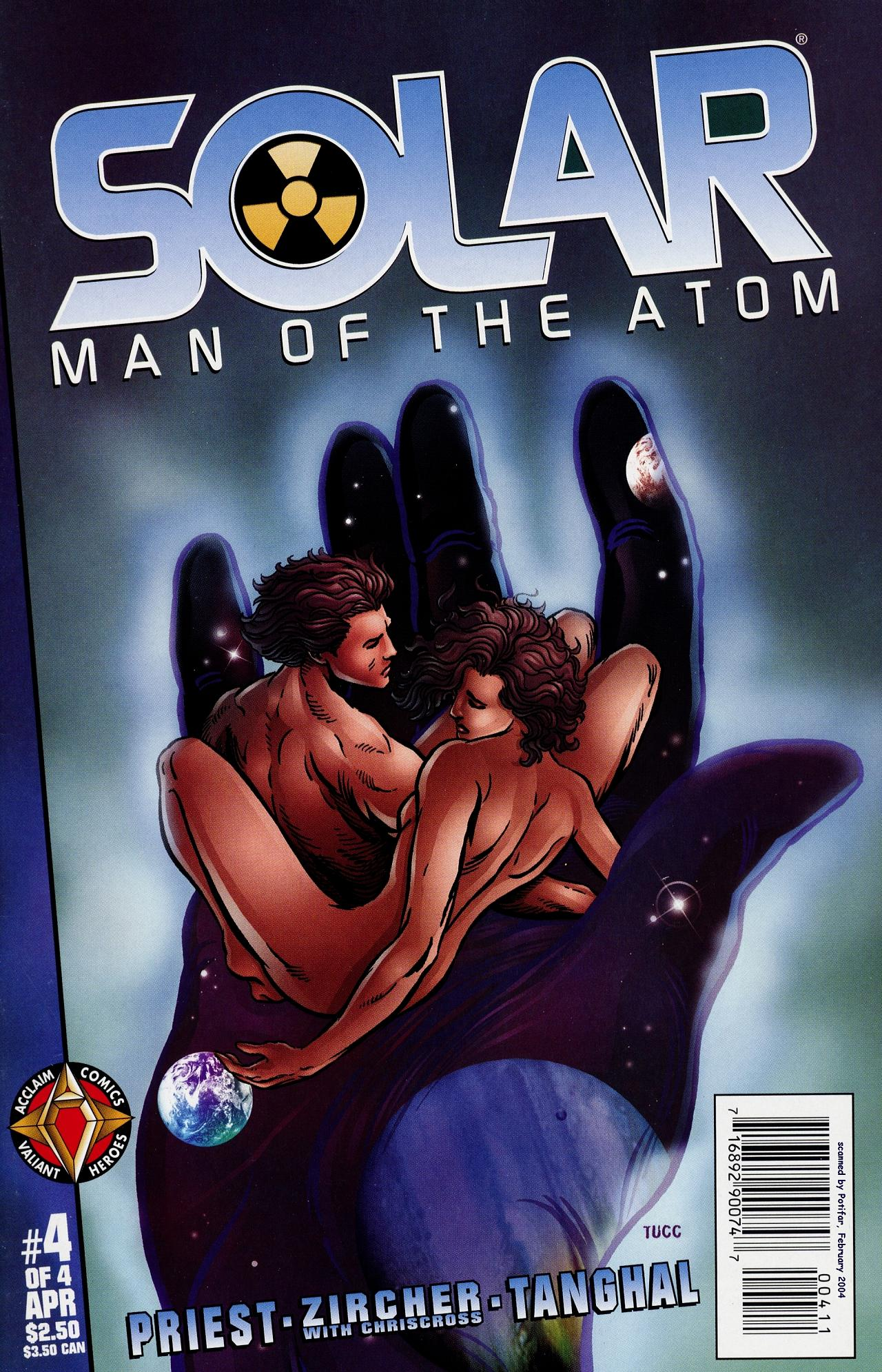 Read online Solar, Man of the Atom: Hell on Earth comic -  Issue #4 - 1