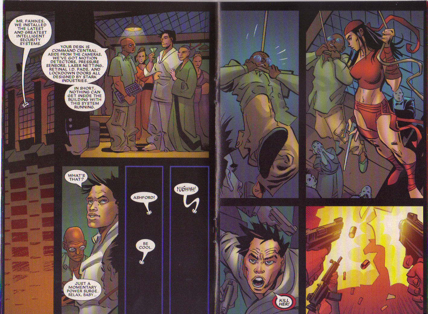 Read online Elektra: On the Rise comic -  Issue # Full - 7