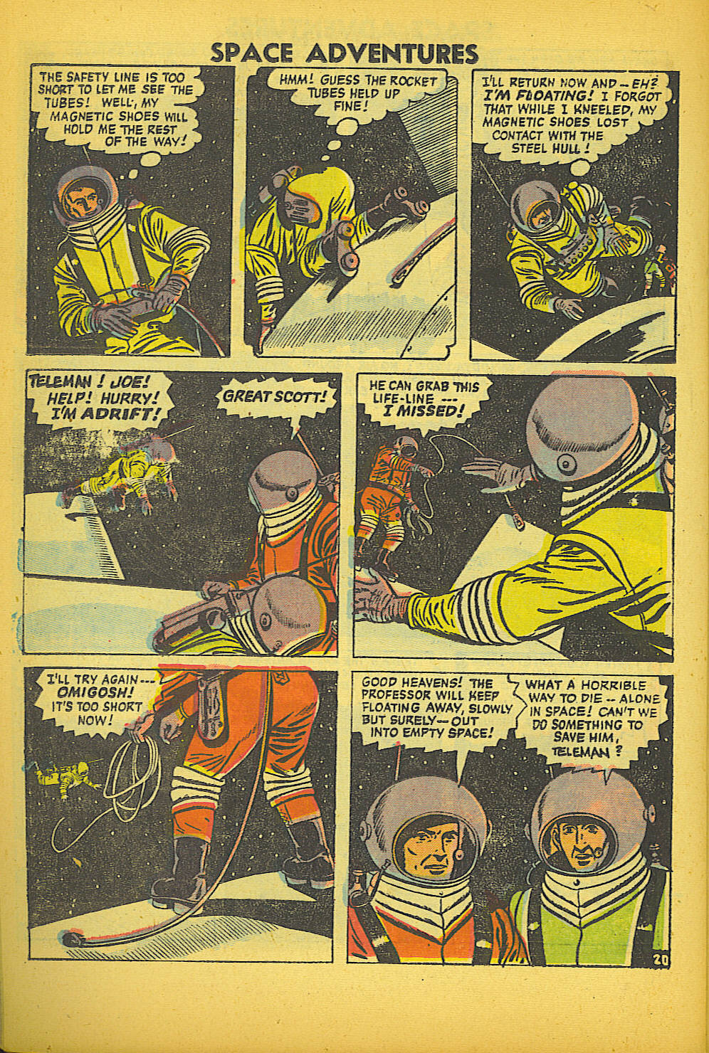 Space Adventures (1952) issue 20 - Page 22
