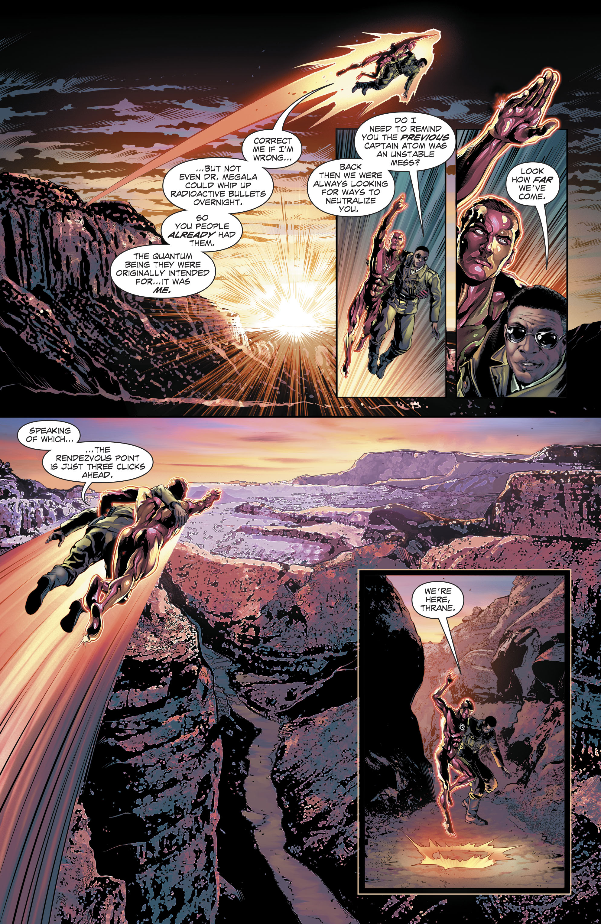 Read online The Fall and Rise of Captain Atom comic -  Issue #6 - 11