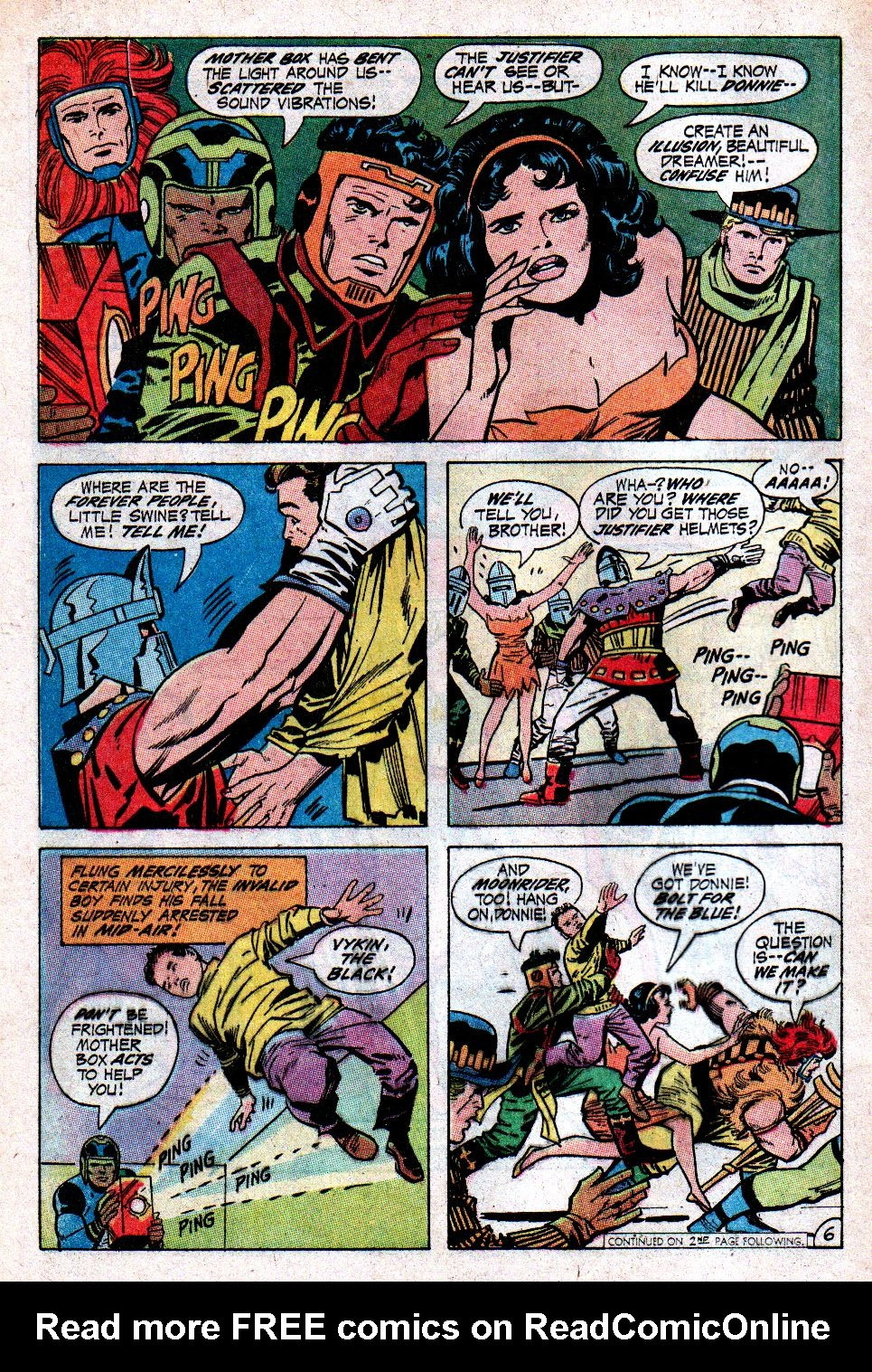 Forever People (1971) issue 3 - Page 7