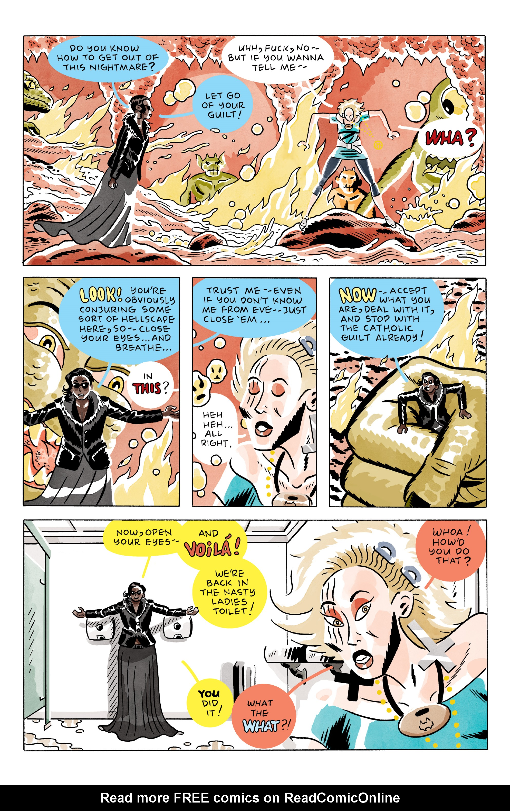 Read online She Wolf comic -  Issue #2 - 7