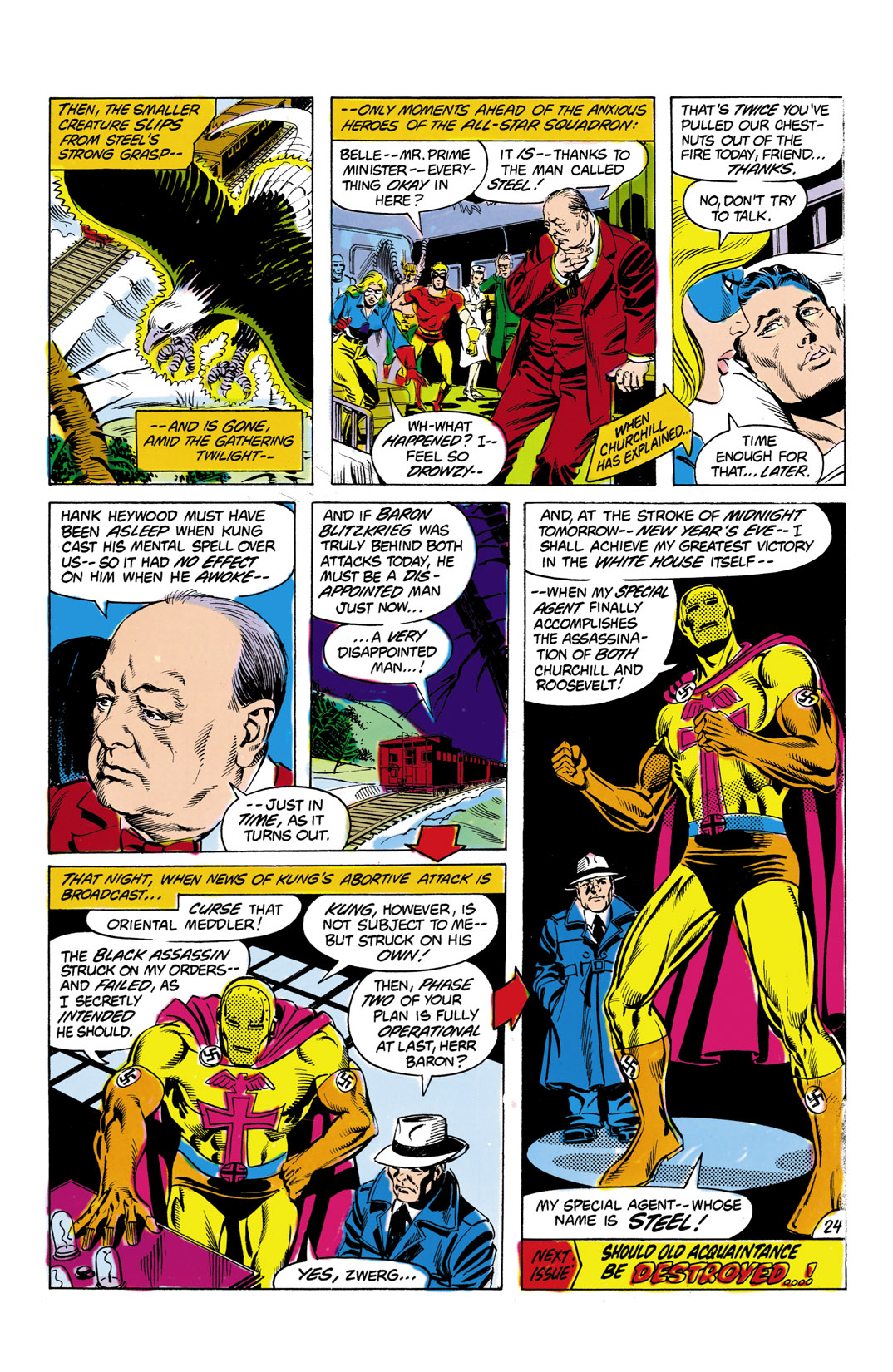 Read online All-Star Squadron comic -  Issue #8 - 25