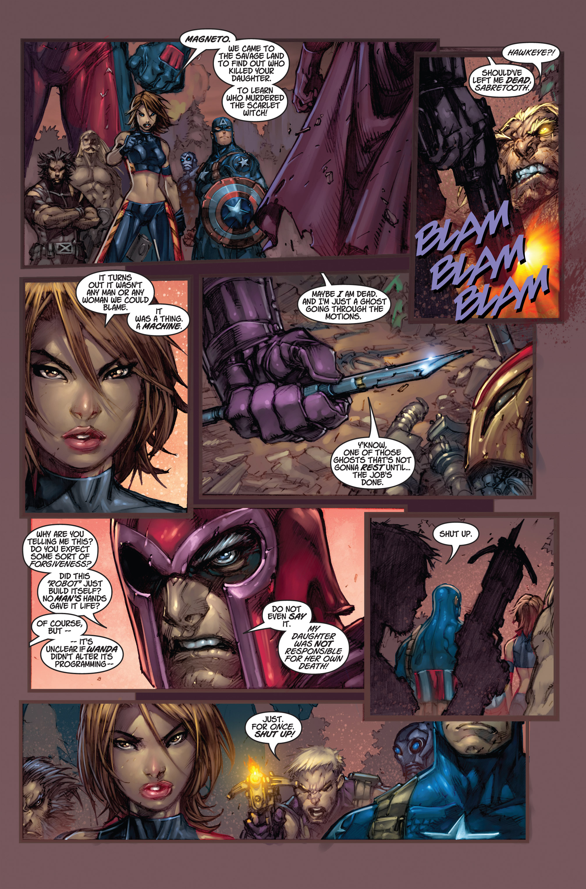 Read online Ultimates 3 comic -  Issue #5 - 19