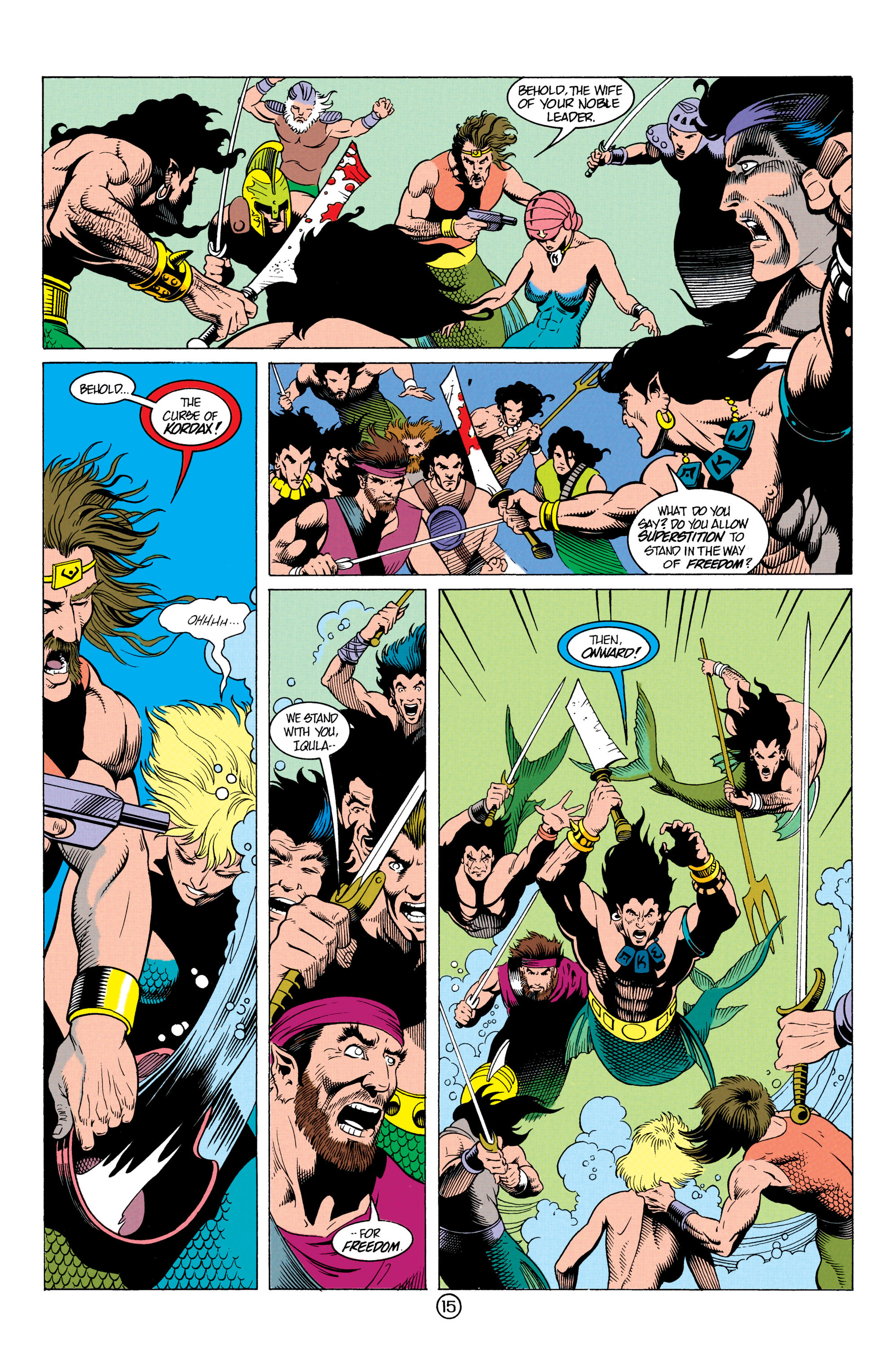 Read online Aquaman (1991) comic -  Issue #12 - 15
