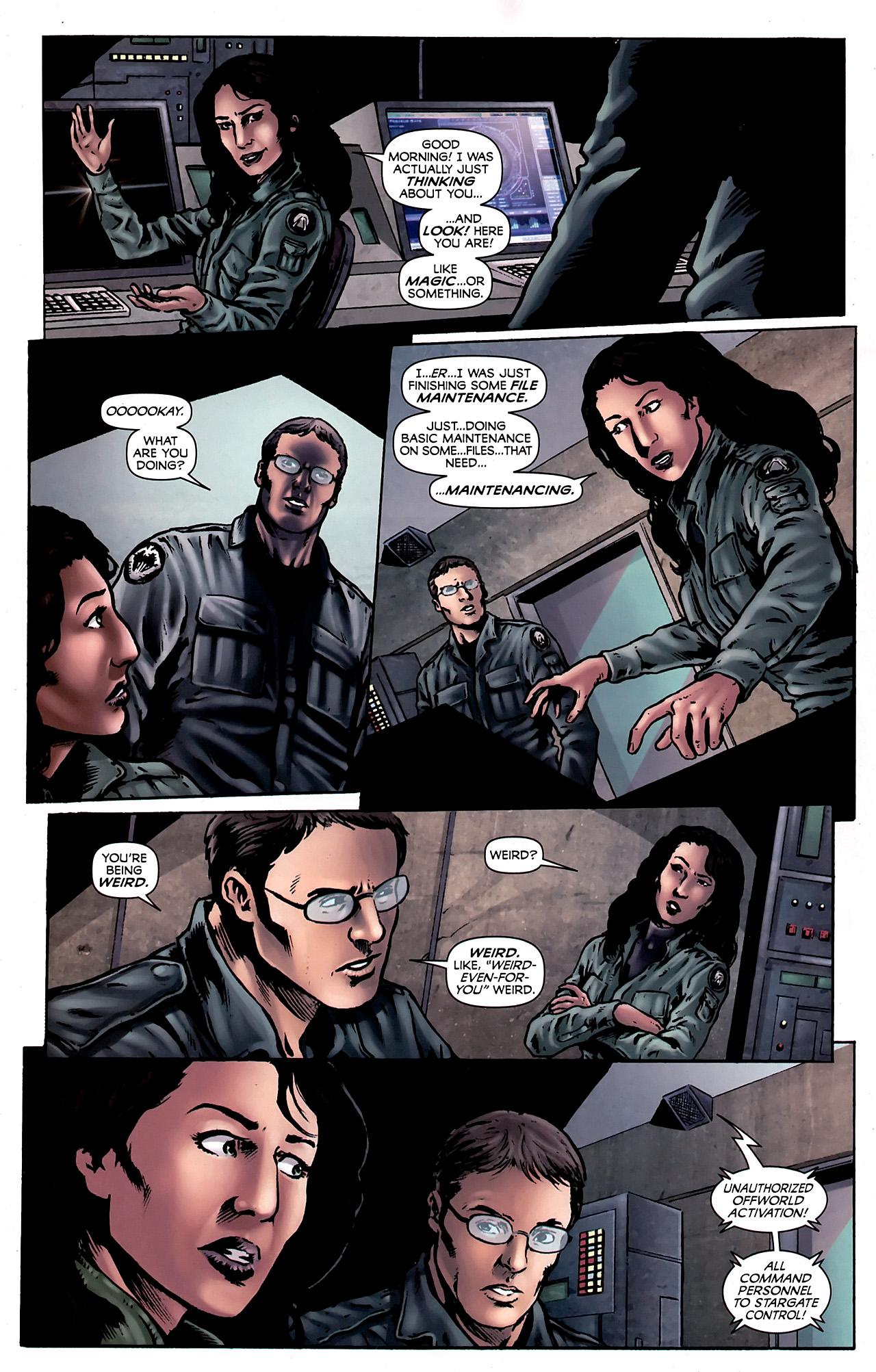 Read online Stargate Vala Mal Doran comic -  Issue #3 - 18