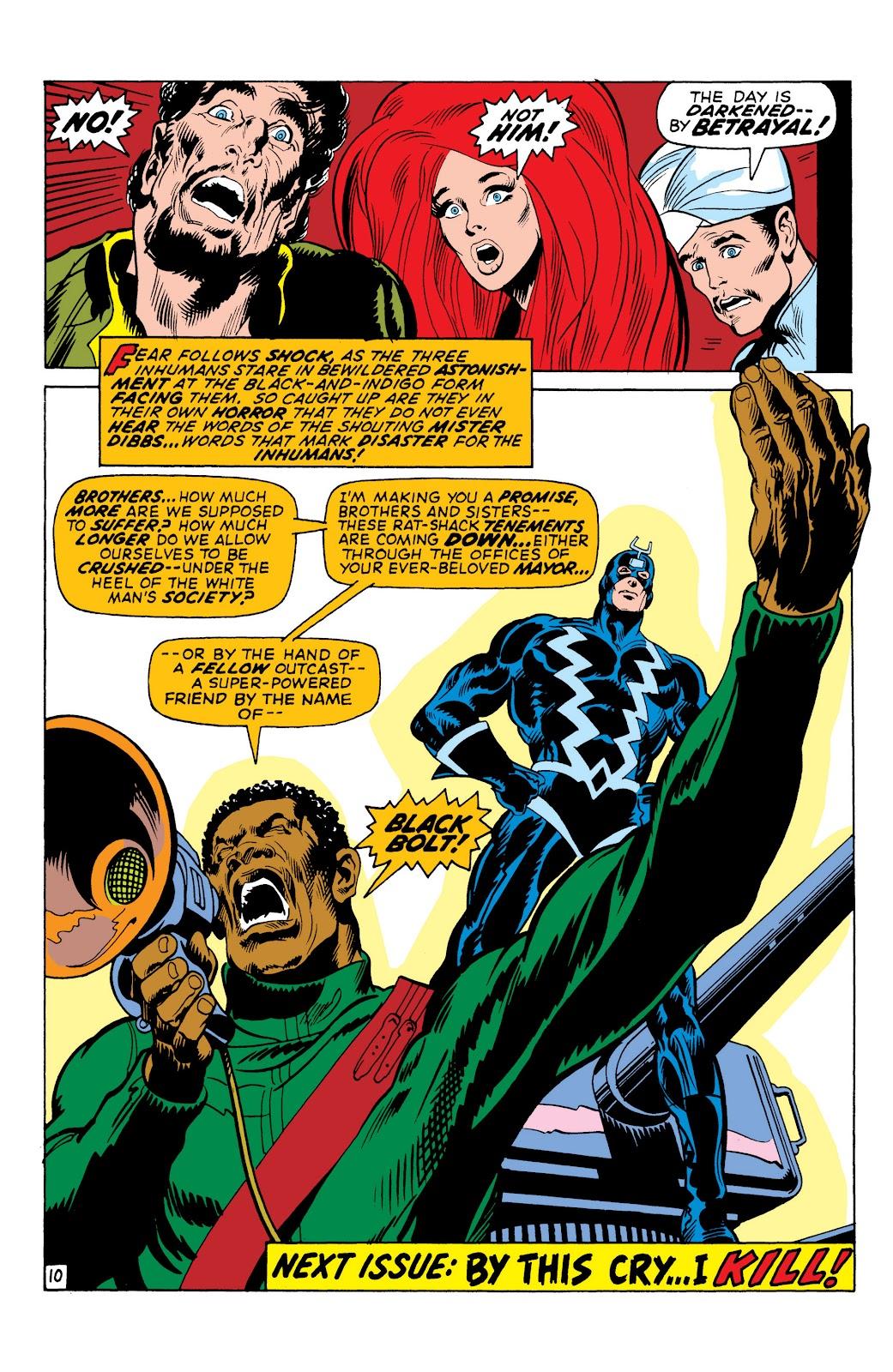 Read online Marvel Masterworks: The Inhumans comic -  Issue # TPB 1 (Part 2) - 45