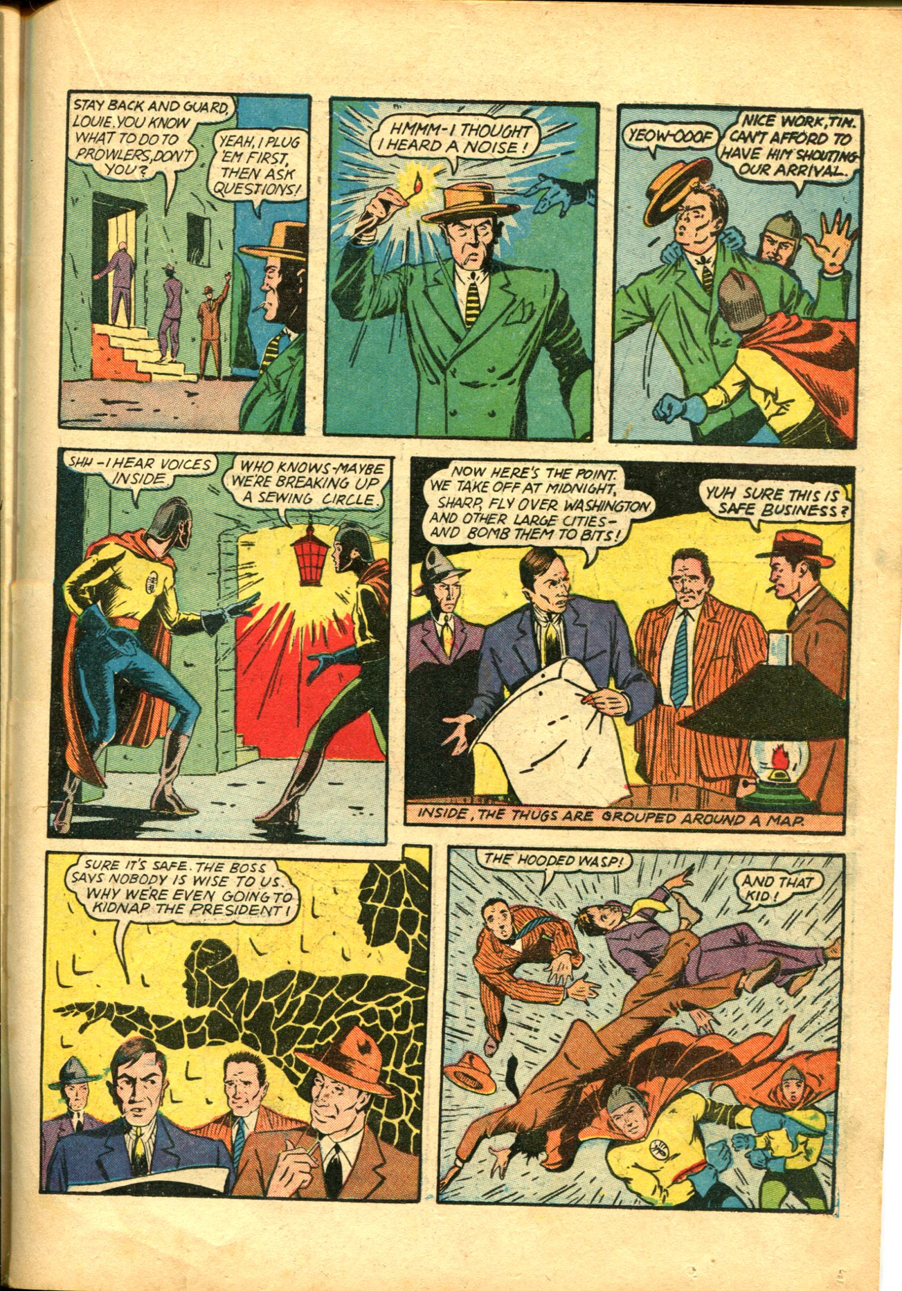 Read online Shadow Comics comic -  Issue #10 - 43