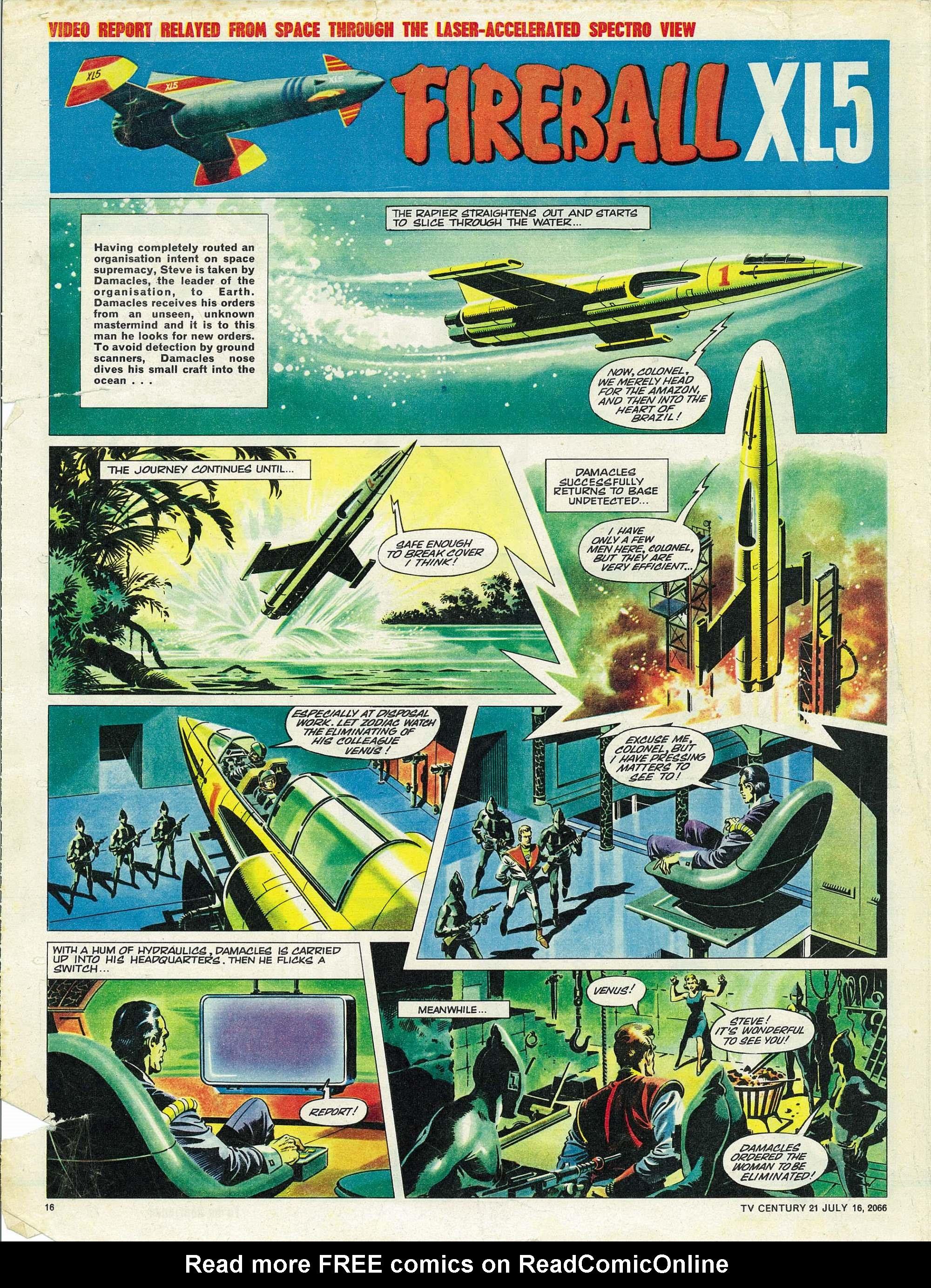 Read online TV Century 21 (TV 21) comic -  Issue #78 - 15