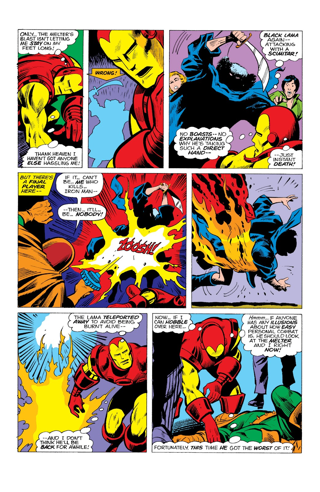 Read online Marvel Masterworks: The Invincible Iron Man comic -  Issue # TPB 10 (Part 1) - 96