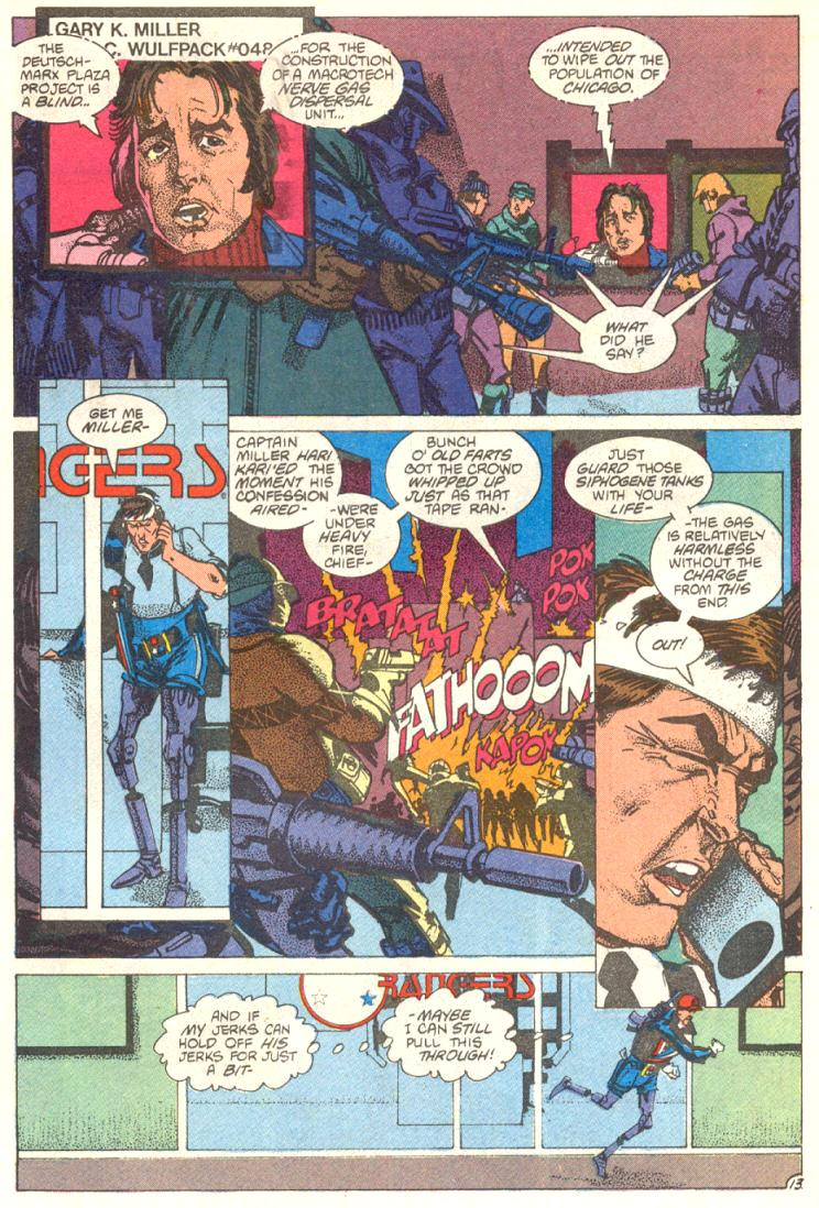 Read online American Flagg! comic -  Issue #12 - 14