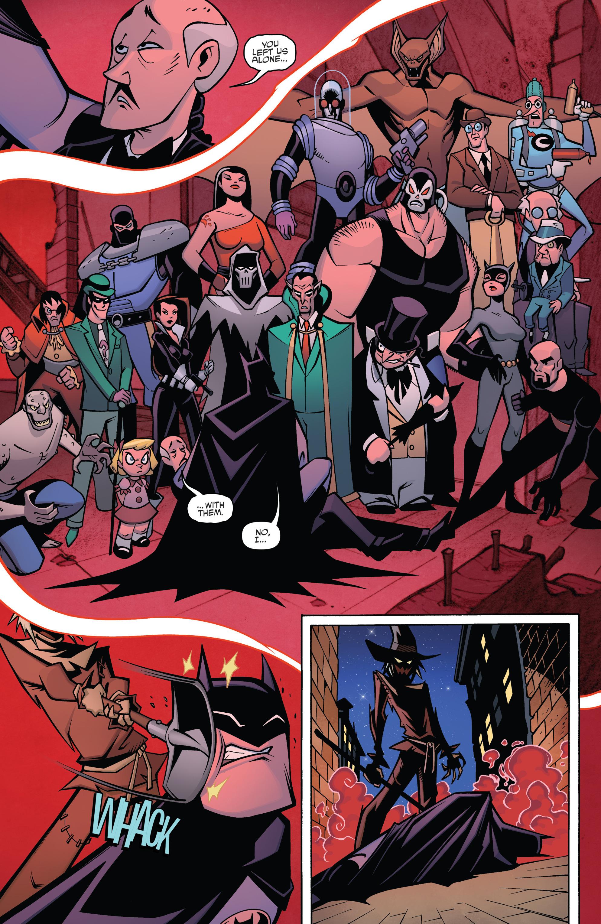Read online Batman/Teenage Mutant Ninja Turtles Adventure comic -  Issue #4 - 5