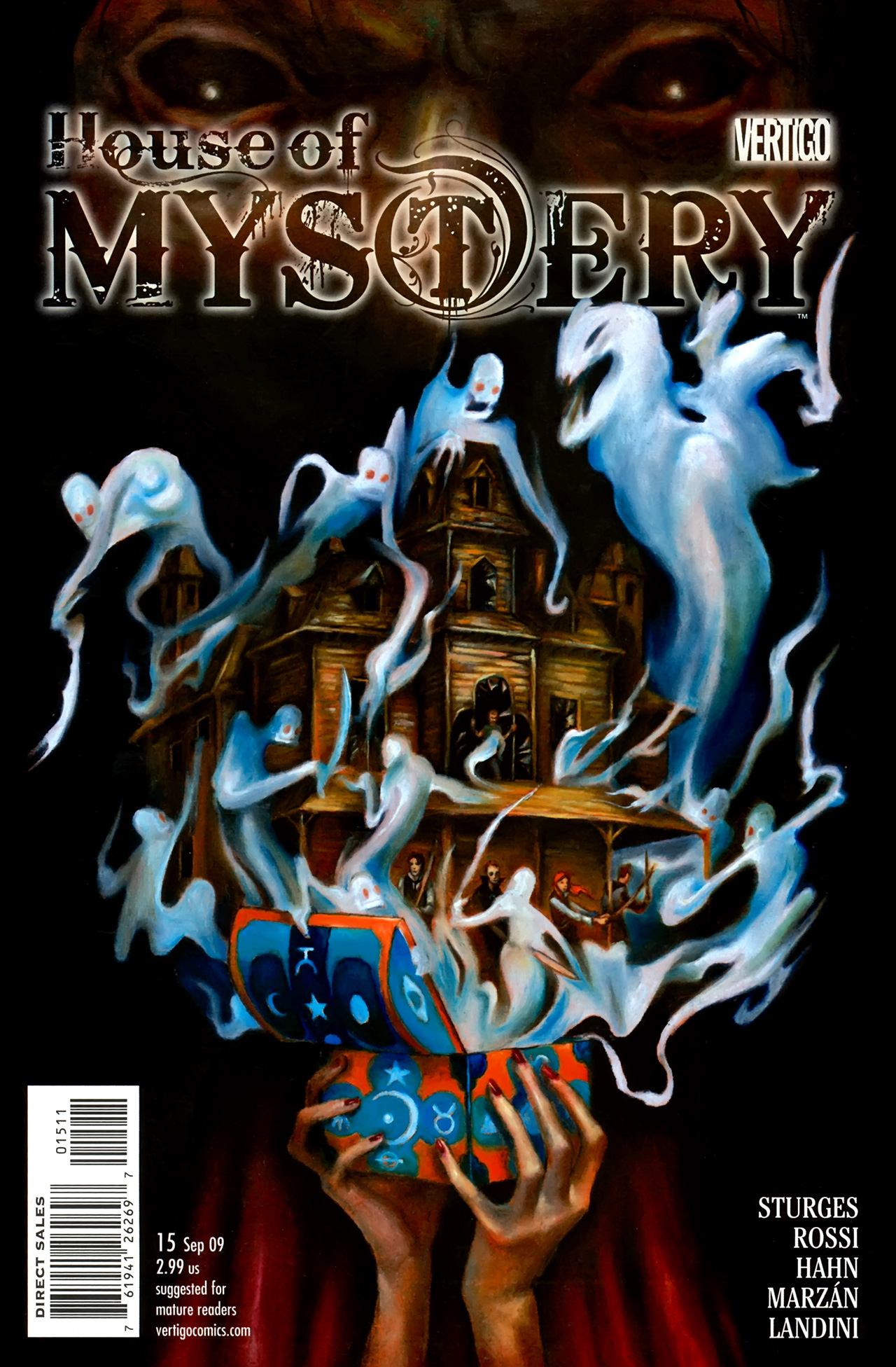 House of Mystery (2008) issue 15 - Page 1