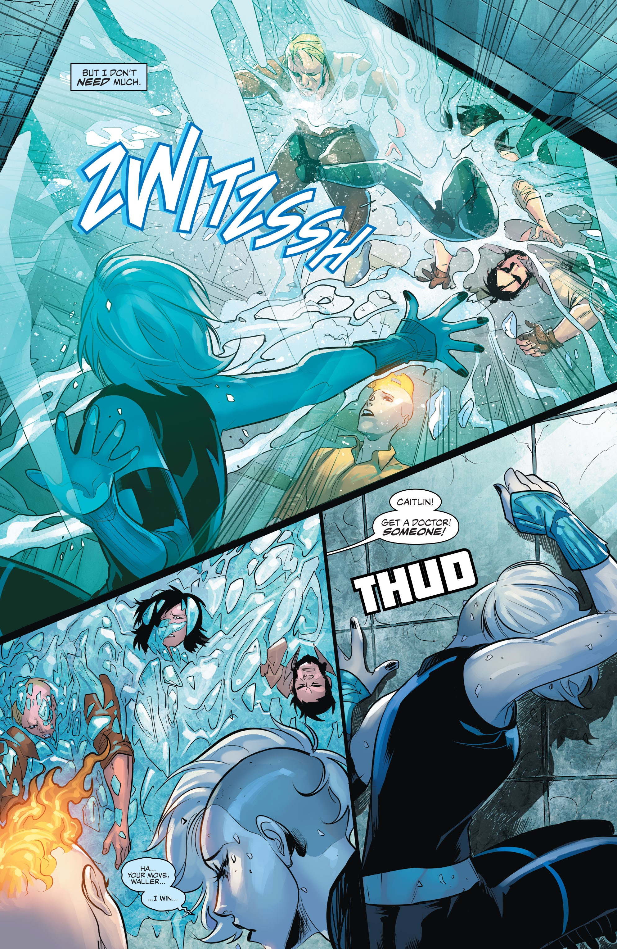 Read online Justice League of America: Killer Frost - Rebirth comic -  Issue # Full - 18