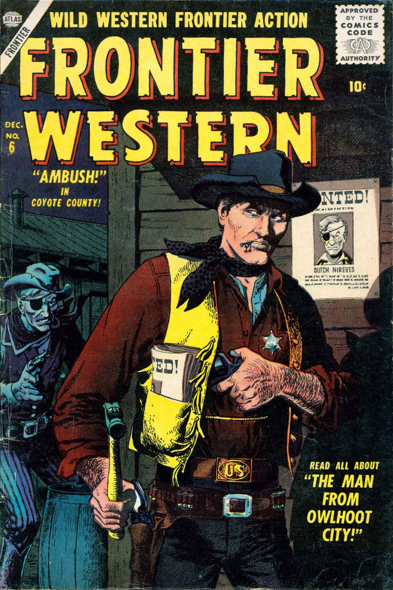 Frontier Western 6 Page 1