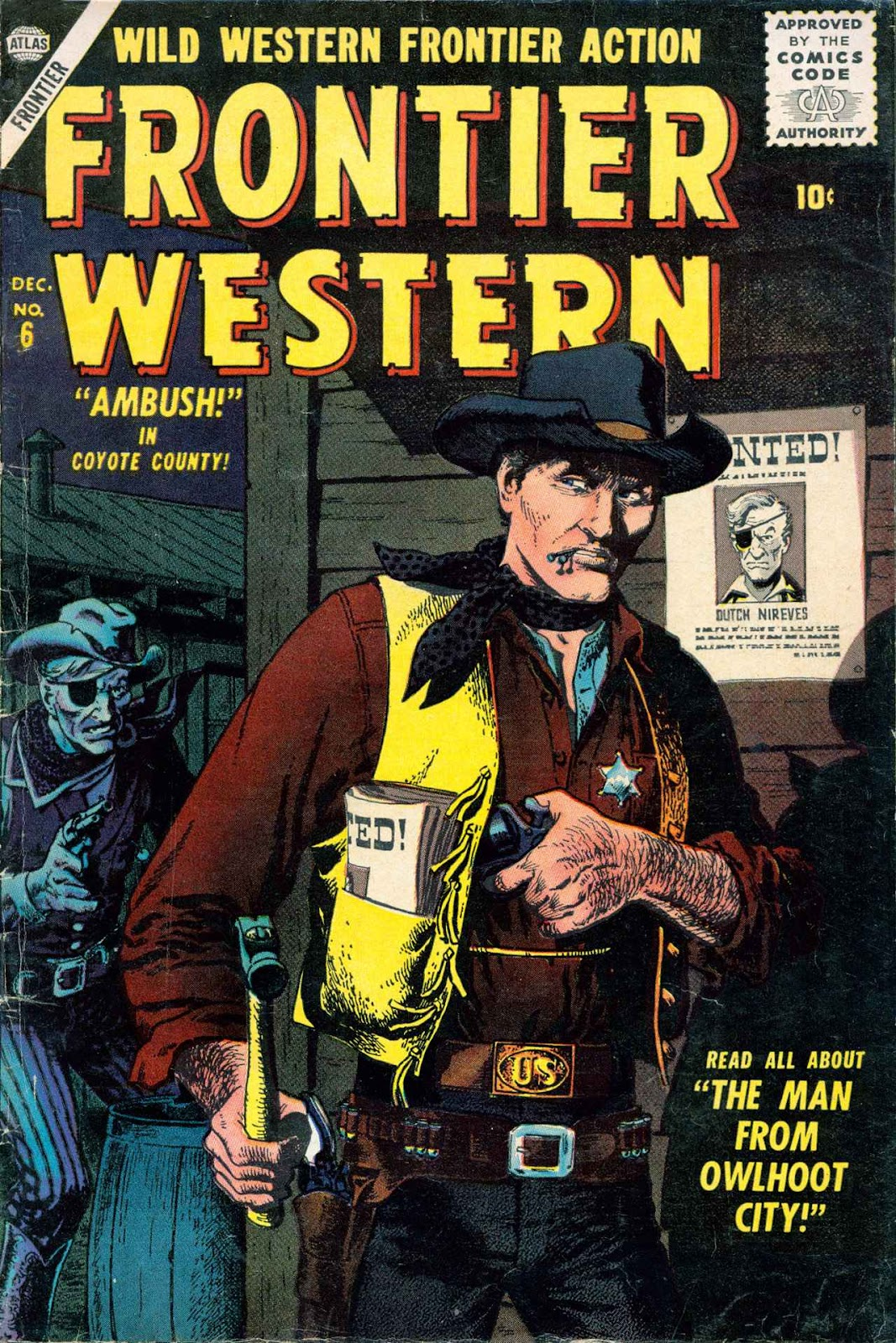 Frontier Western issue 6 - Page 1