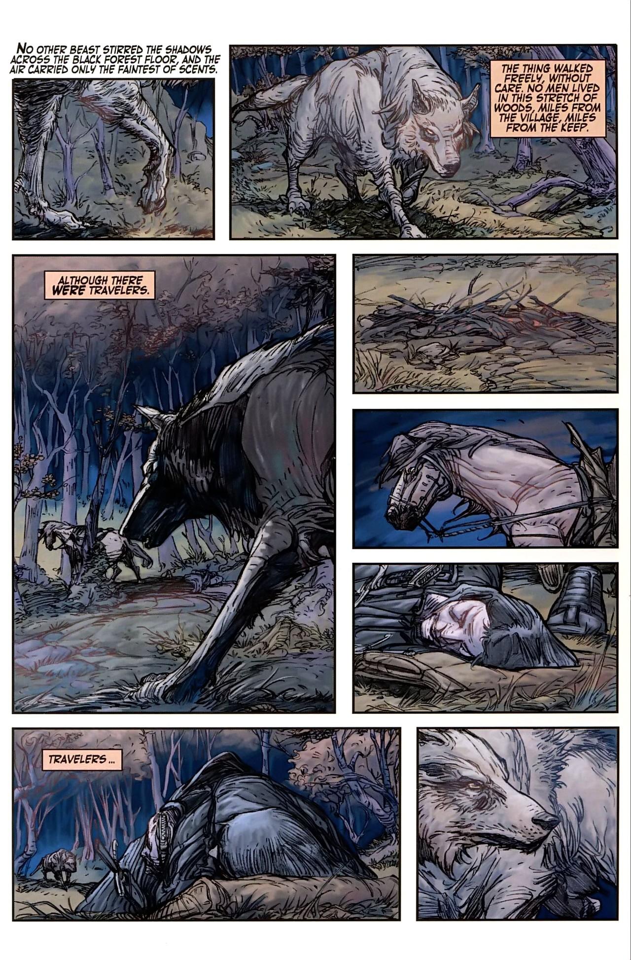 Read online Solomon Kane comic -  Issue #1 - 4