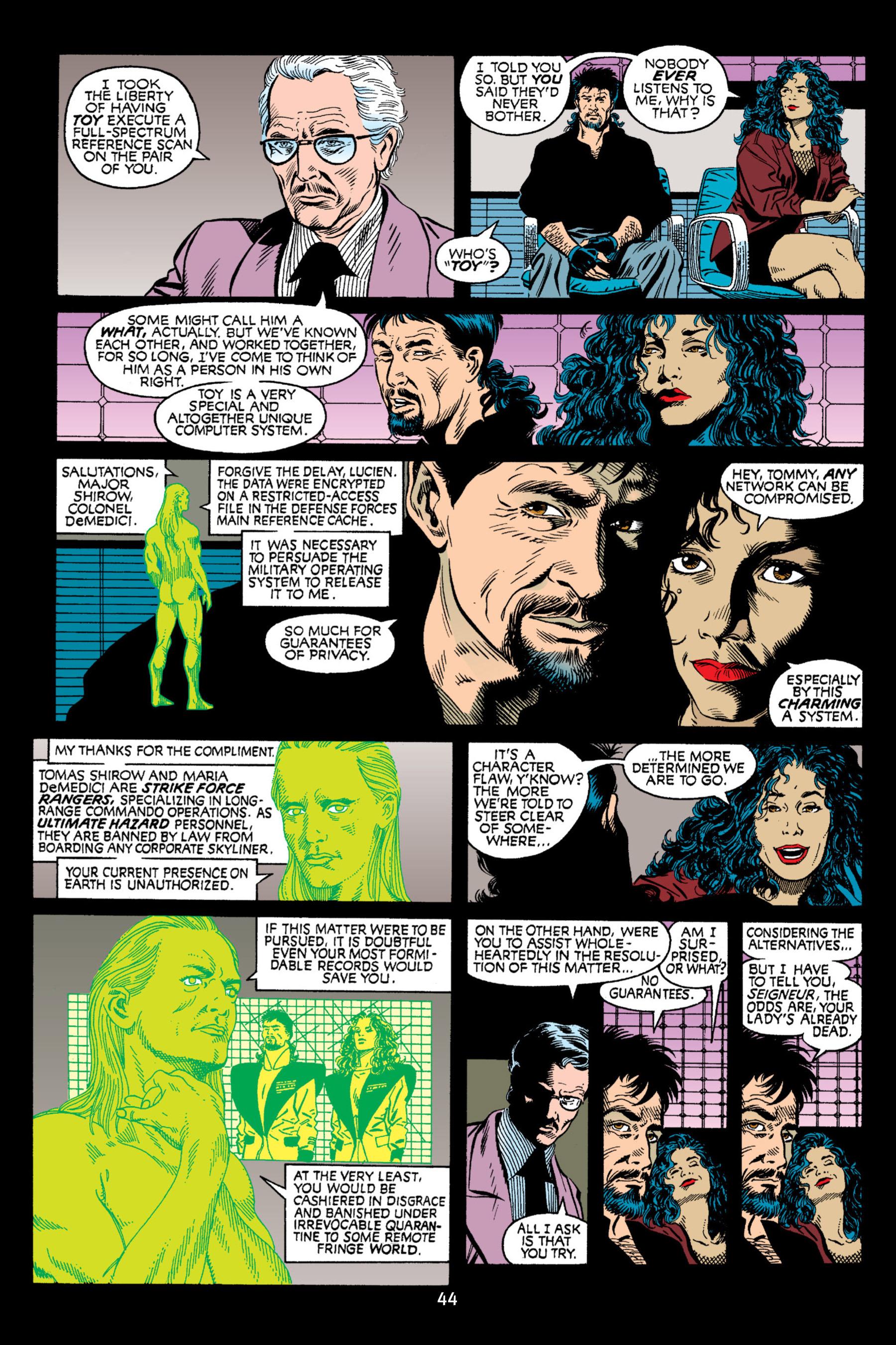 Read online Aliens vs. Predator Omnibus comic -  Issue # _TPB 2 Part 1 - 44