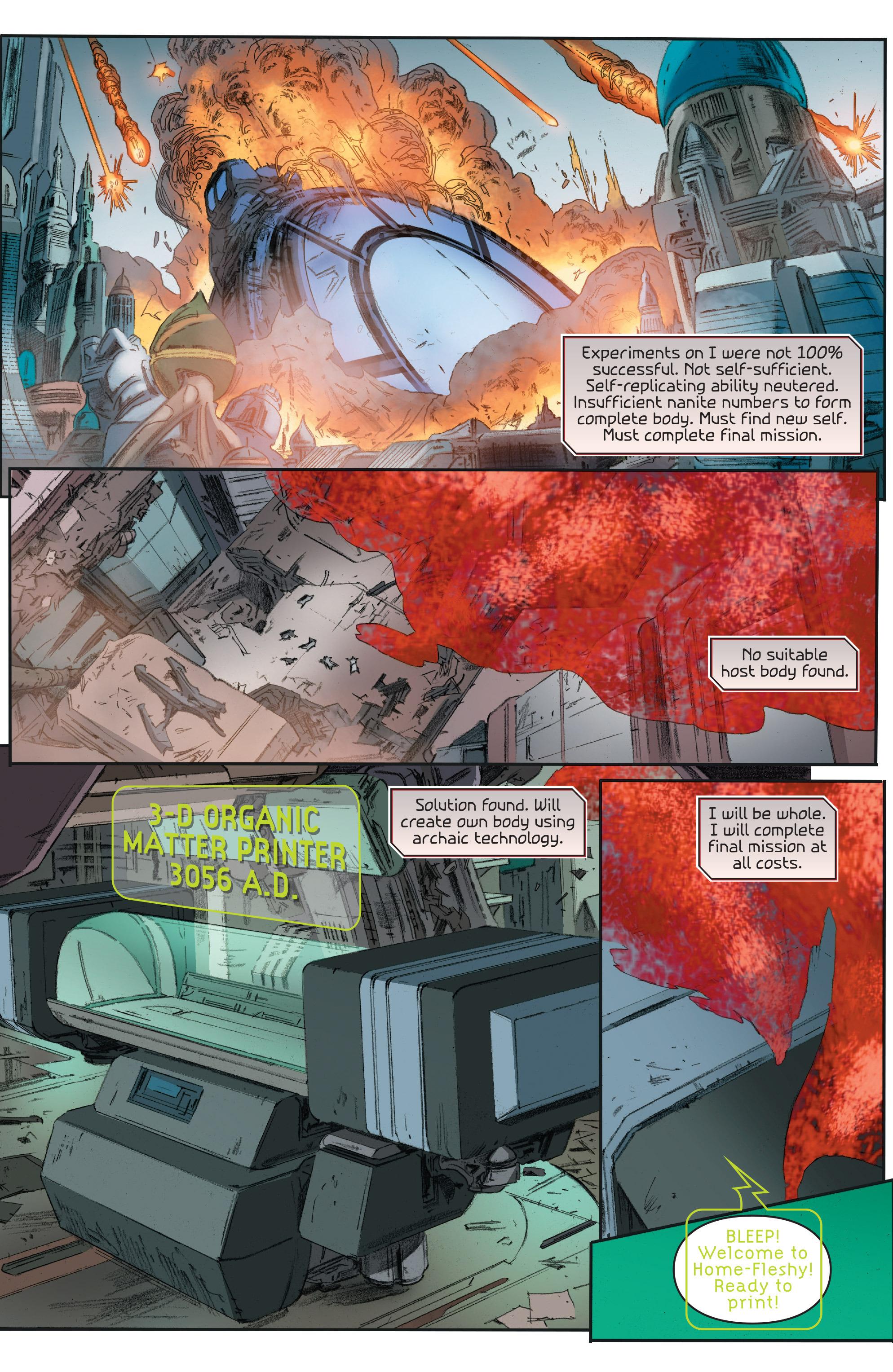 Read online 4001 A.D.: Bloodshot comic -  Issue #4001 A.D.: Bloodshot Full - 6