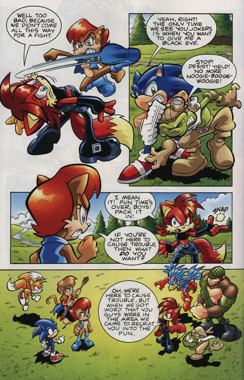 Read online Sonic Universe comic -  Issue #15 - 5